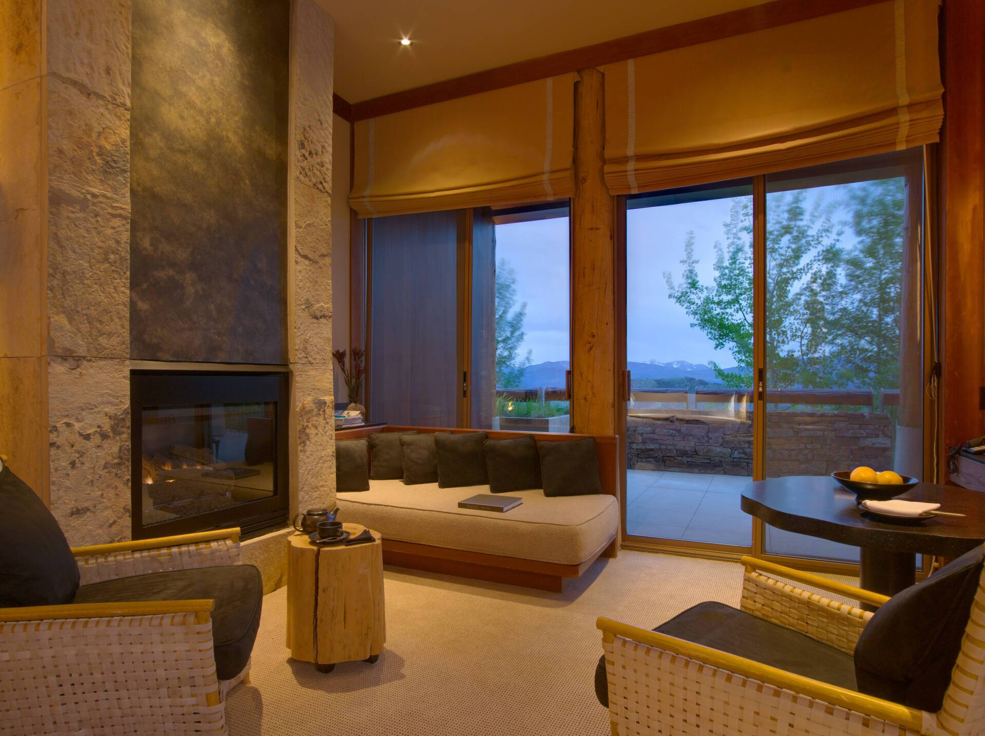 Amangani Suite Salon Etats Unis Yellowstone