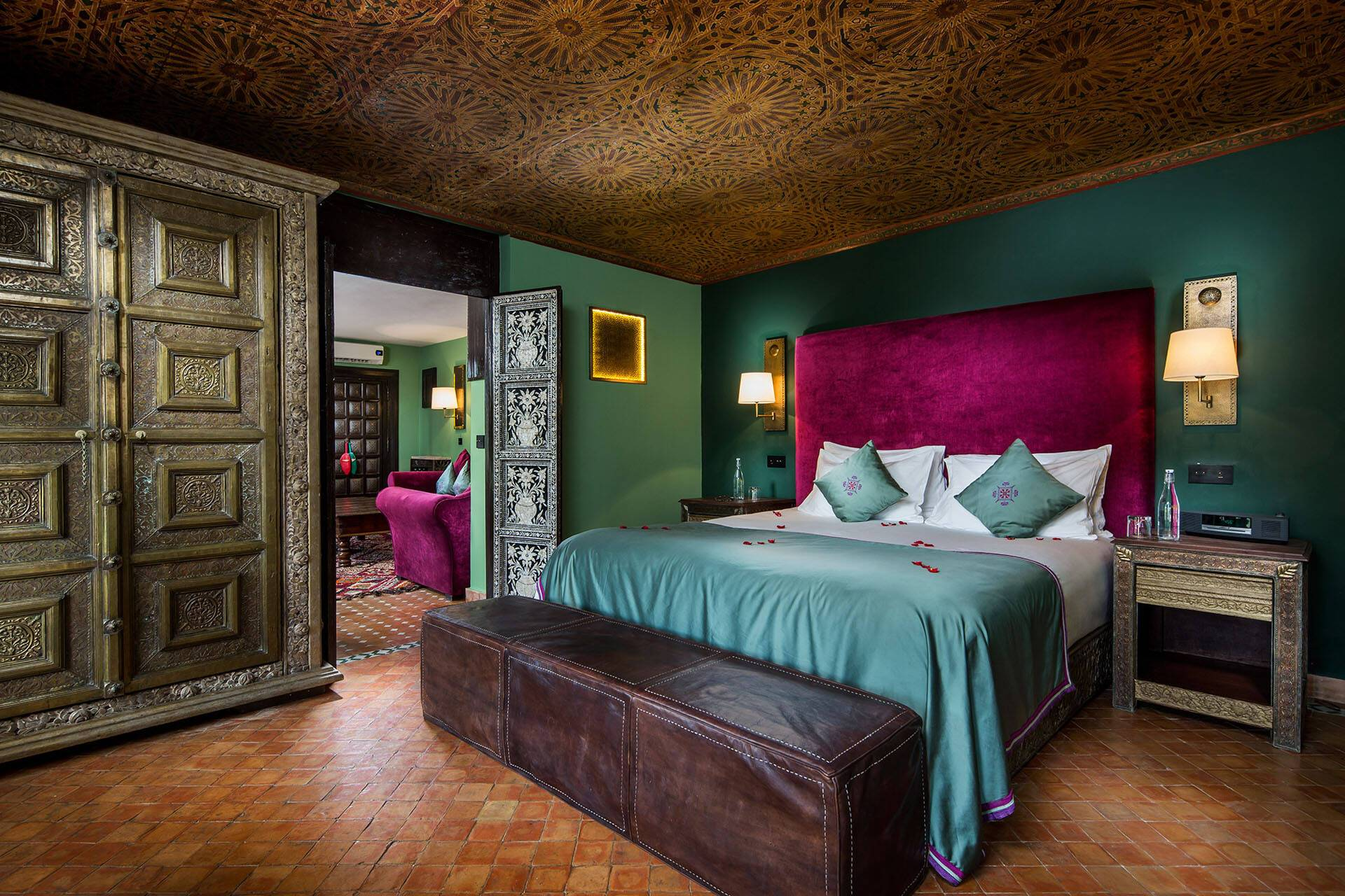 Kasbah Tamadot Maroc Deluxe suite