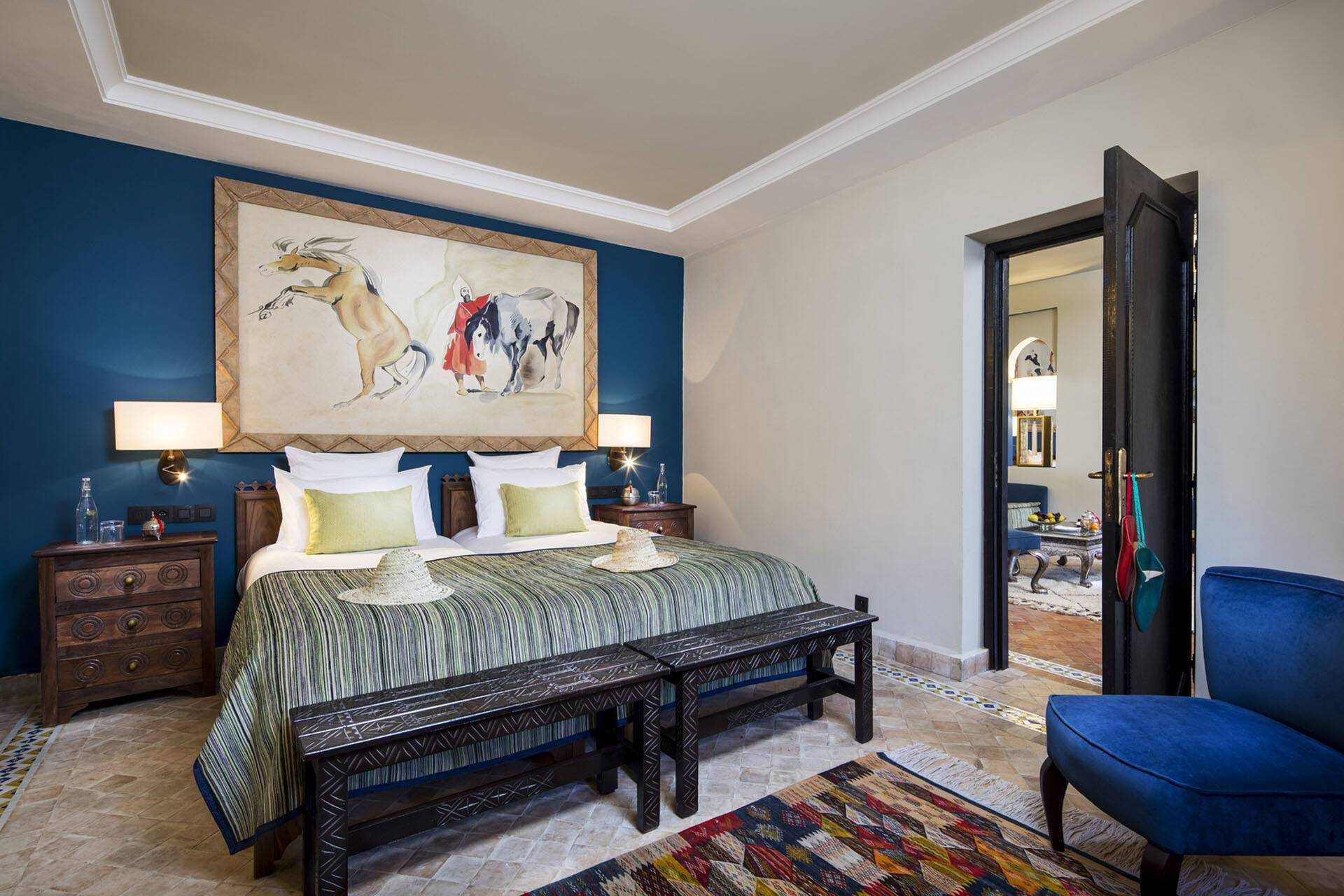 Kasbah Tamadot Maroc Superior Suite Bedroom