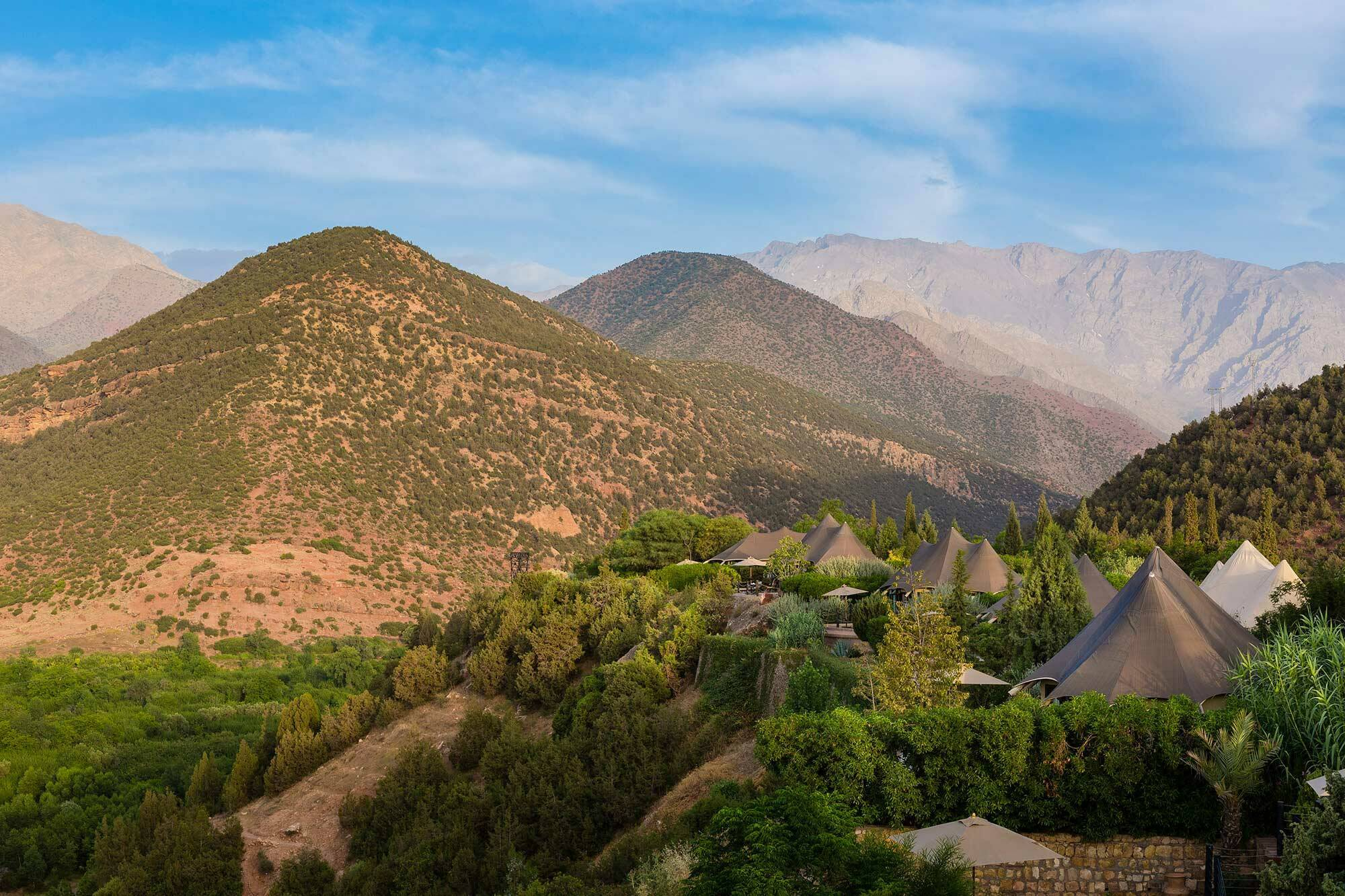 Kasbah Tamadot Maroc Virgin Berber Tente Exterieur