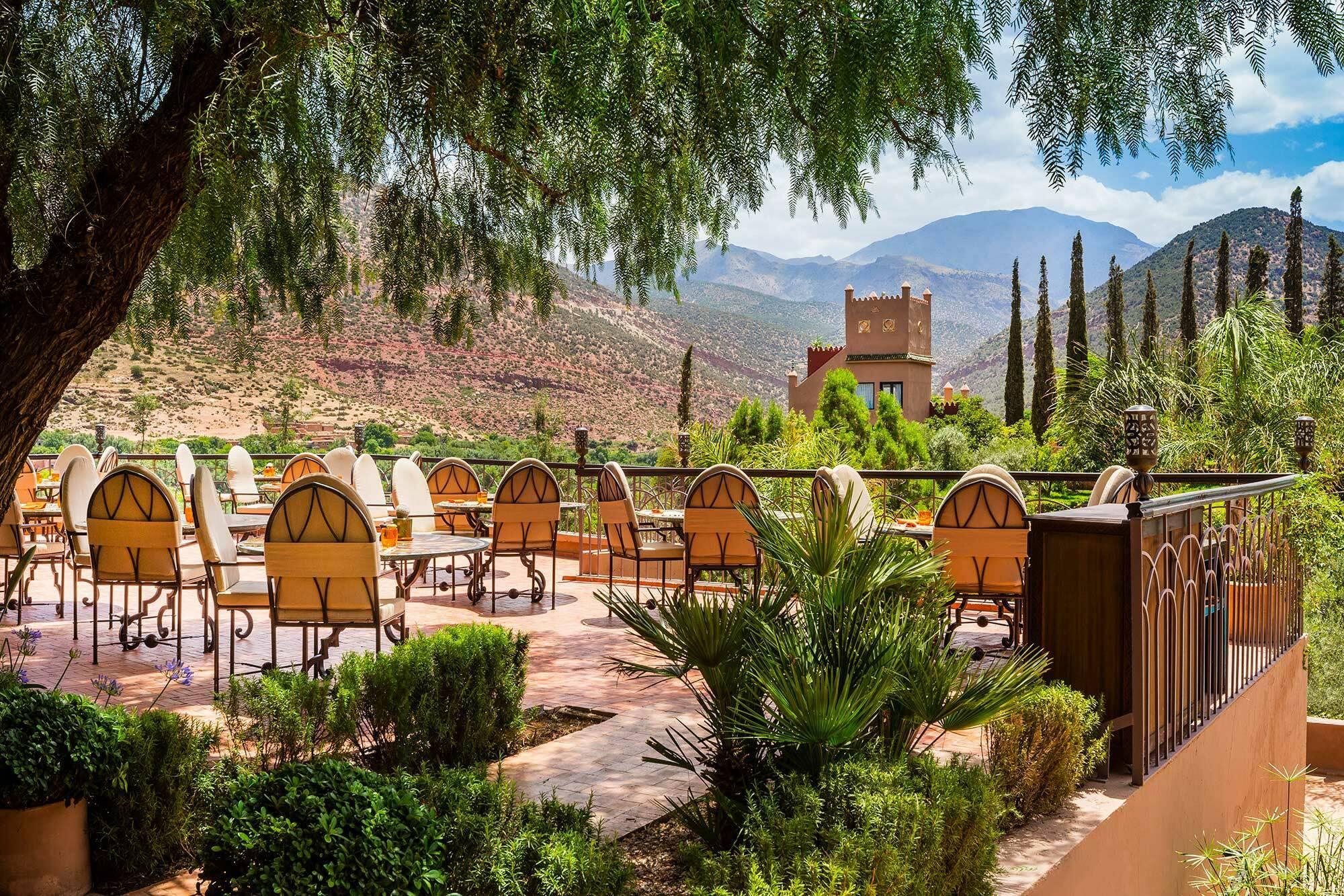 Kasbah Tamadot Maroc Virgin Restaurant