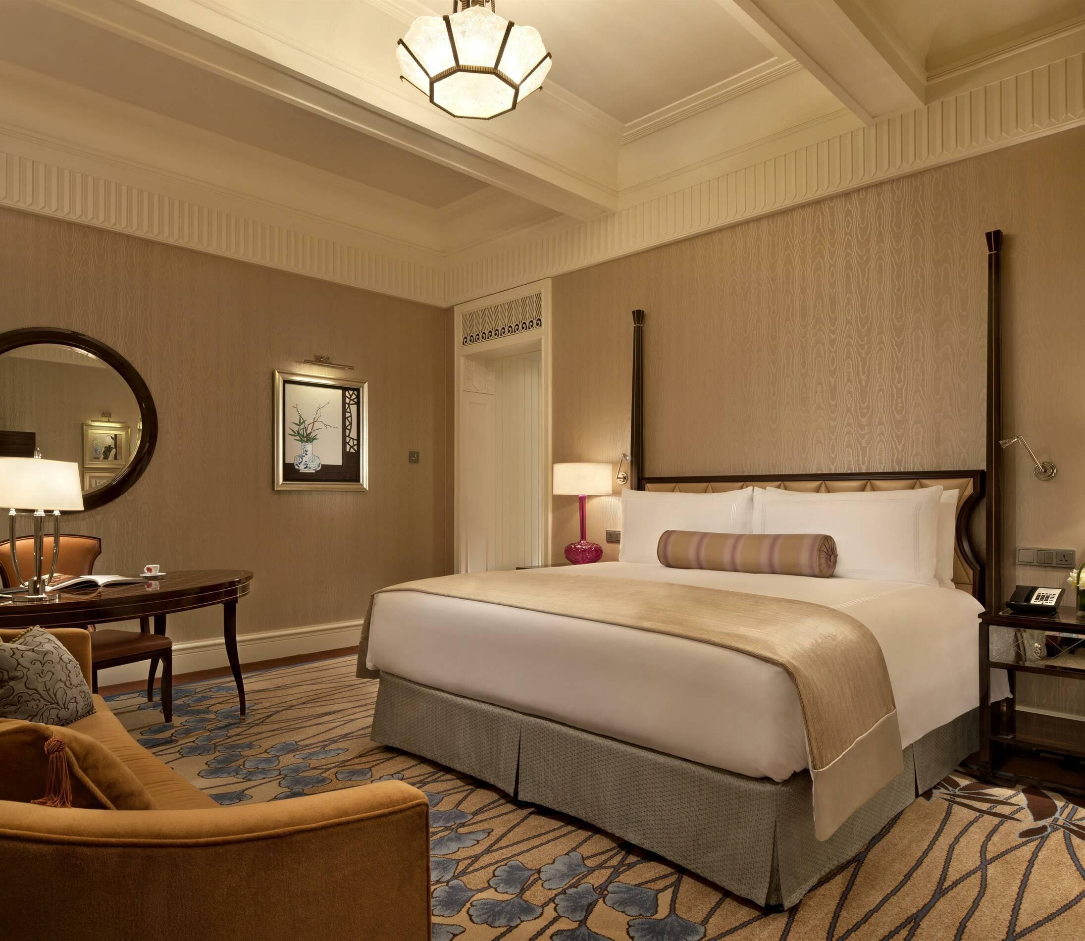 Fairmont Peace Hotel Shanghai deluxe chambre