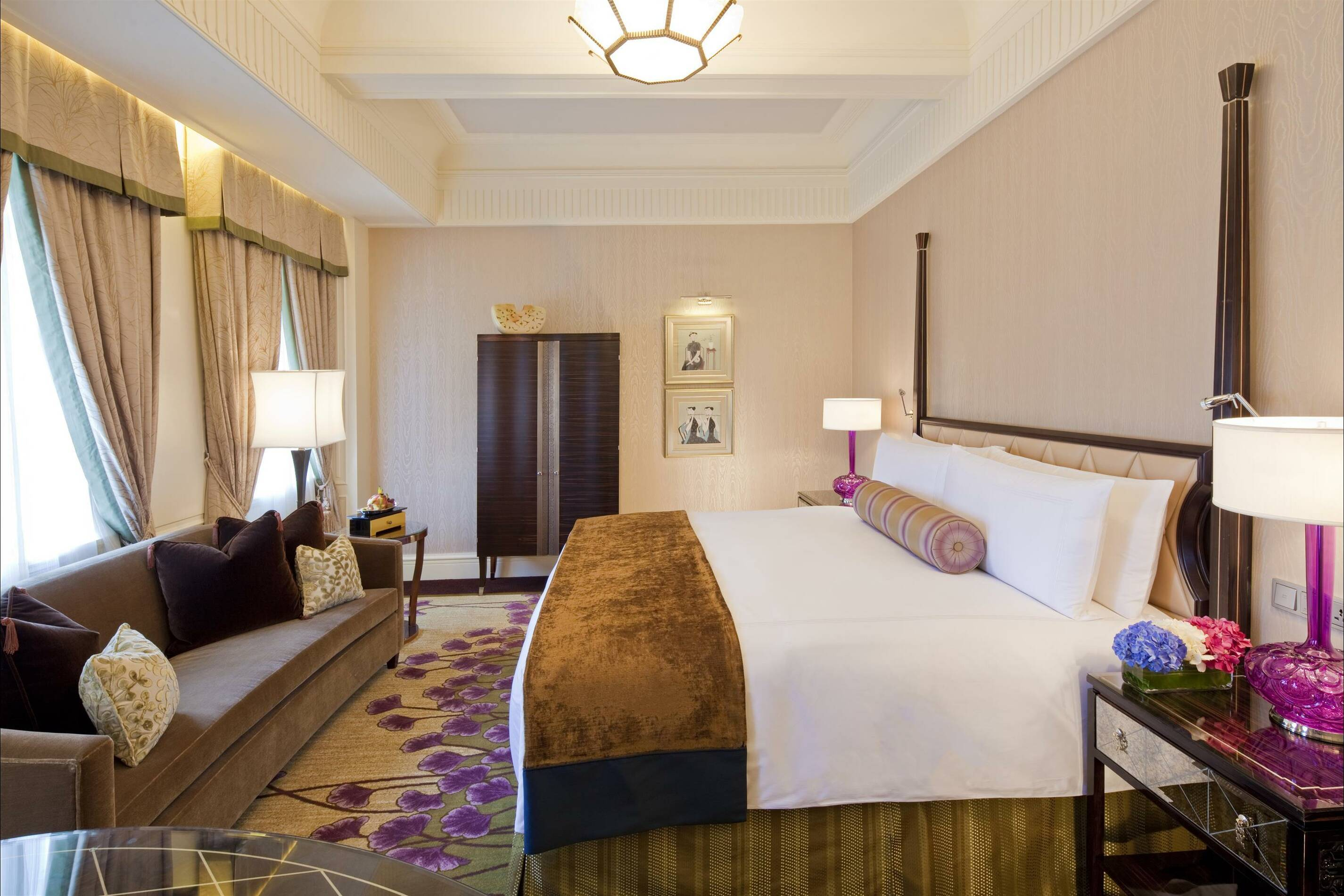 Fairmont Peace Hotel Shanghai deluxe king chambre