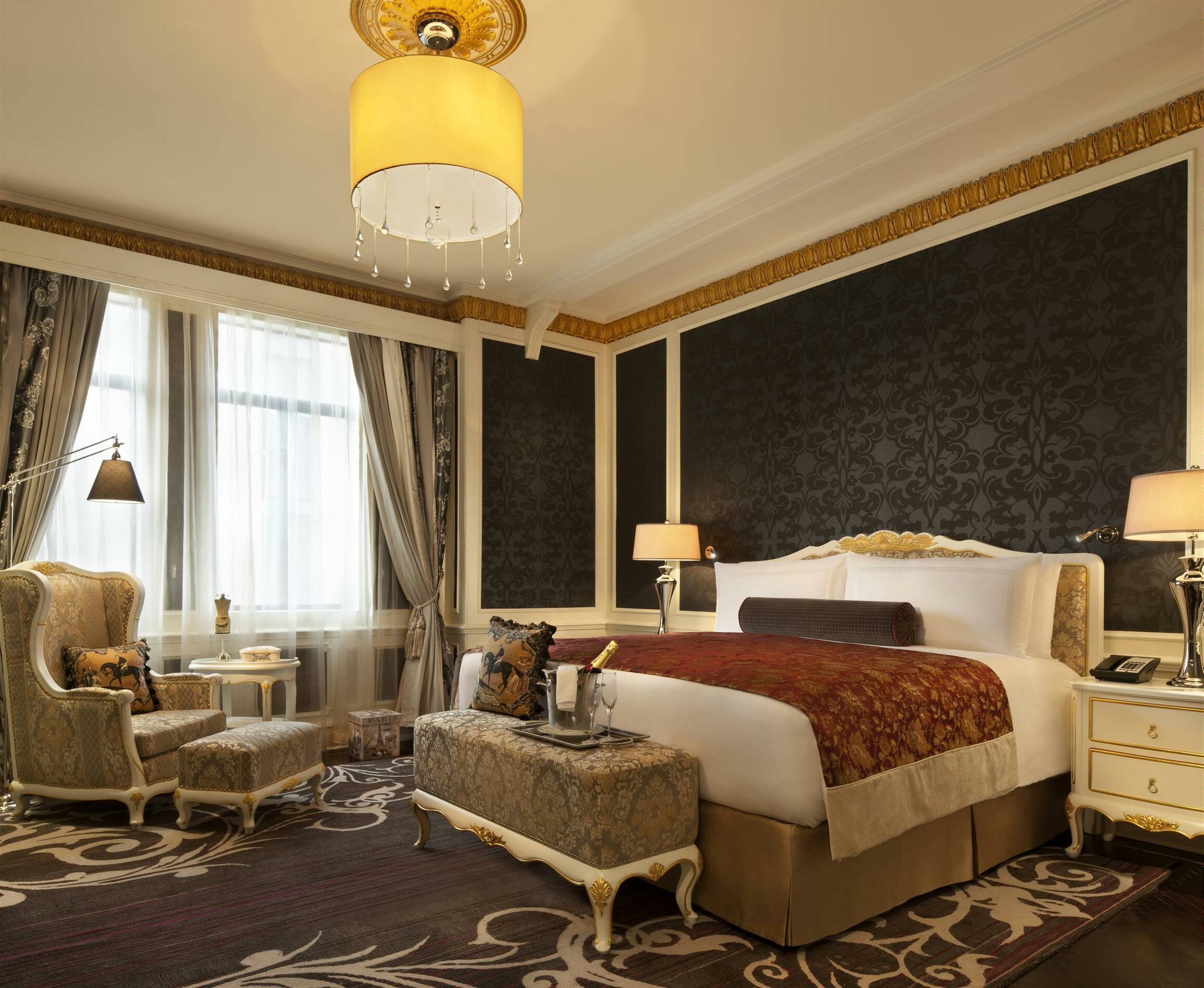 Fairmont Peace Hotel Shanghai french suite chambre