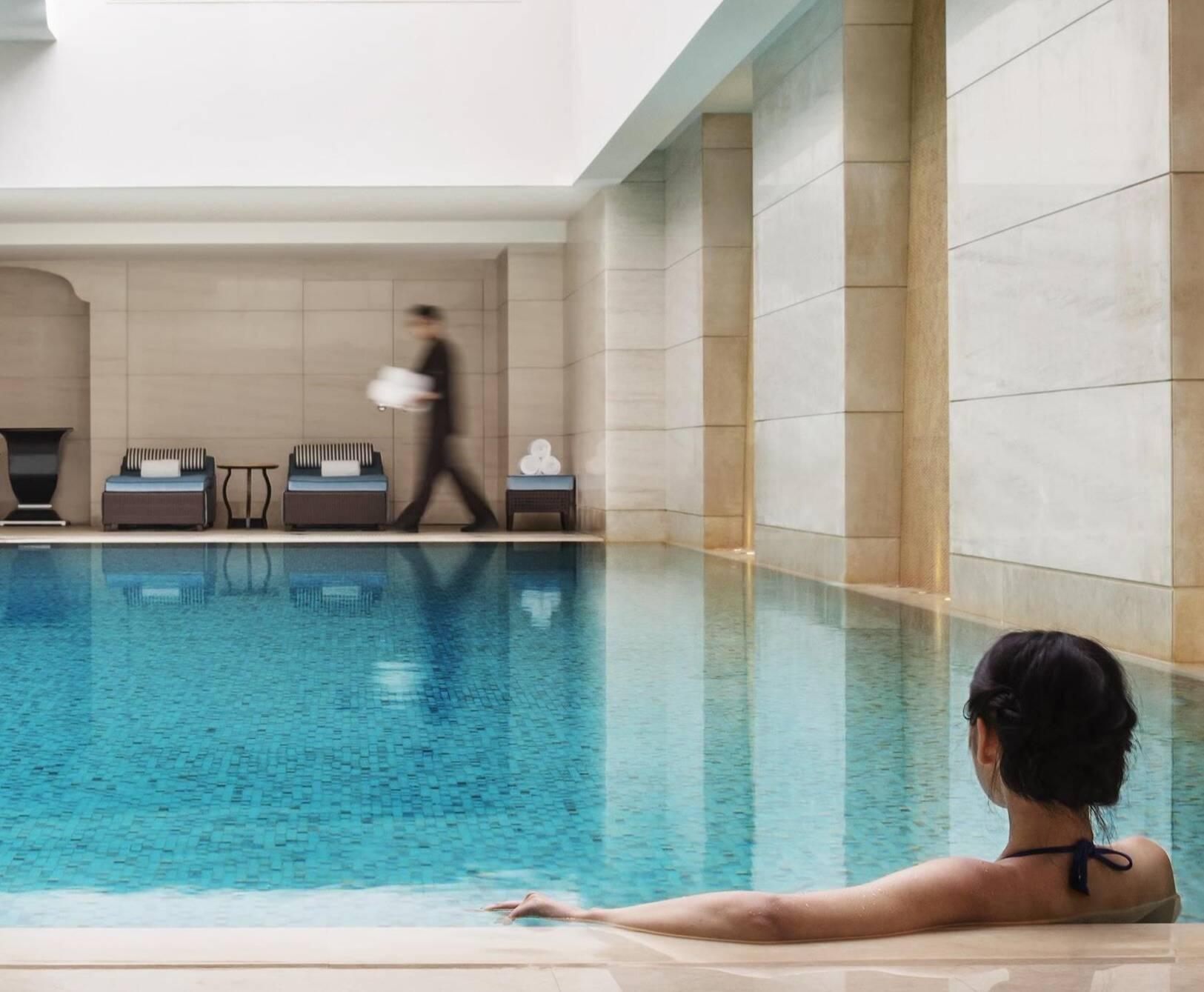 Fairmont Peace Hotel Shanghai piscine
