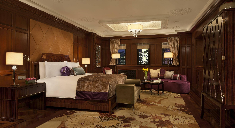 Fairmont Peace Hotel Shanghai suite sassoon chambre