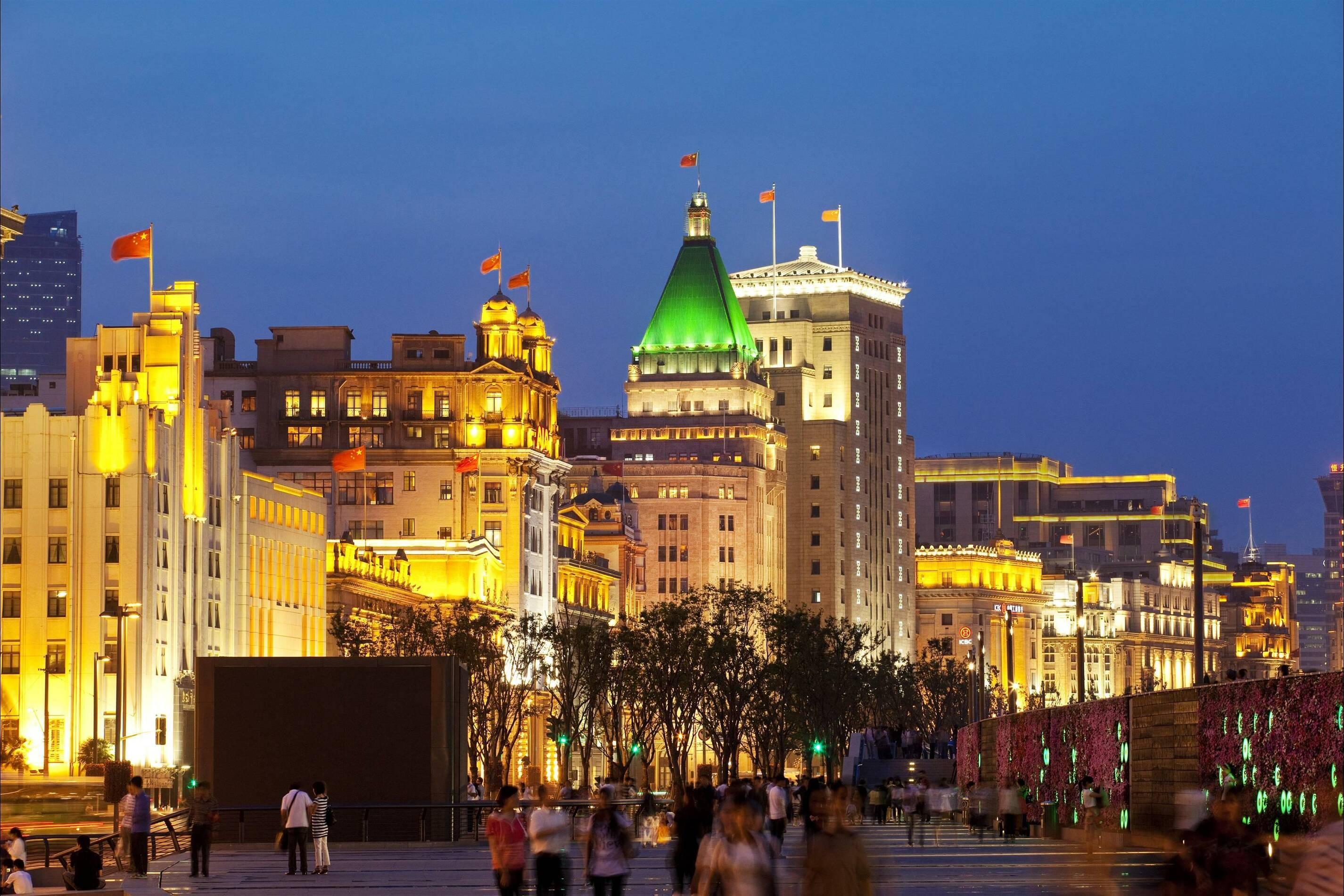 Fairmont Peace Hotel Shanghai vue exterieure