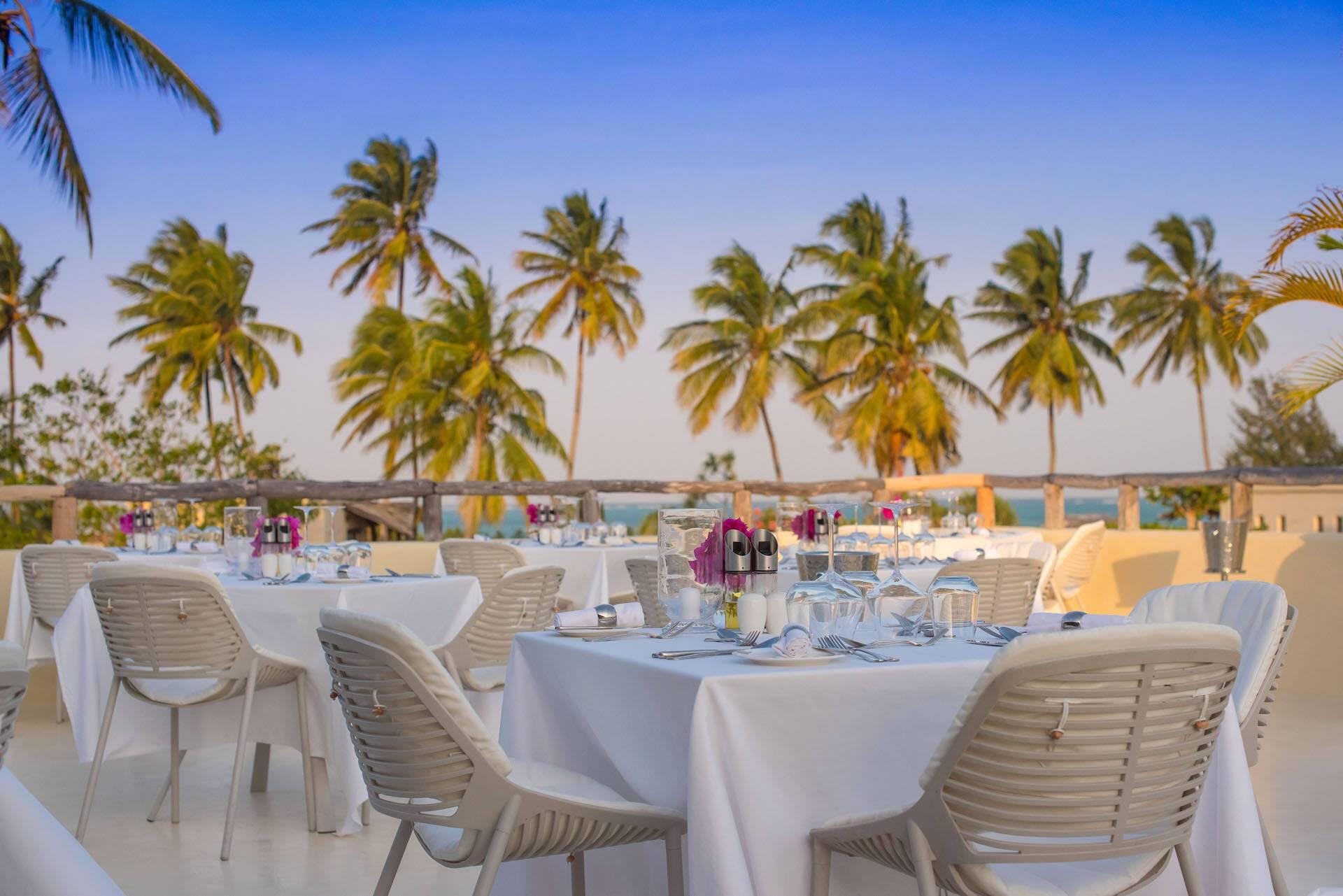 White Sand Zanzibar Dining