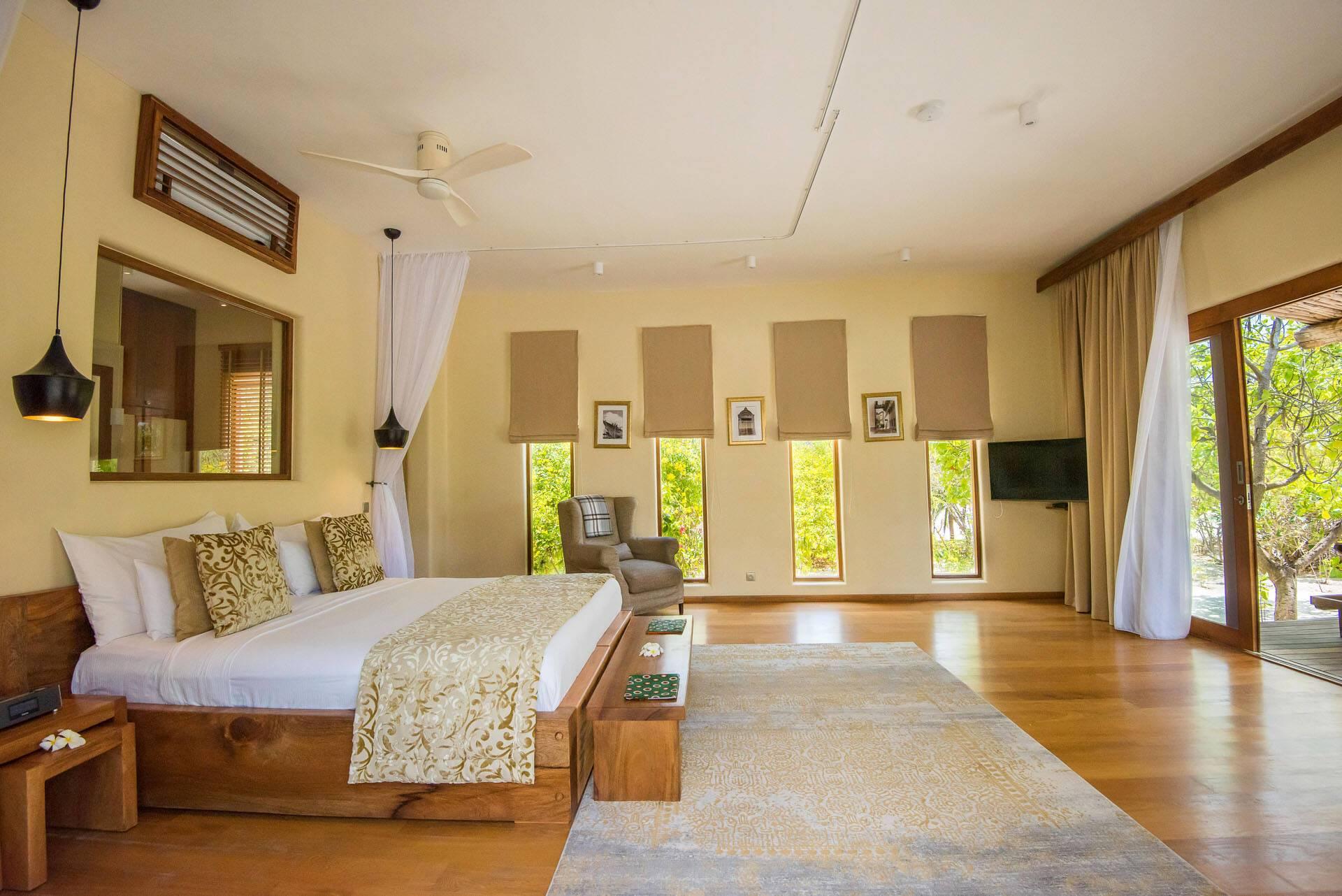 White Sand Zanzibar Villa Upper Floor Bedroom