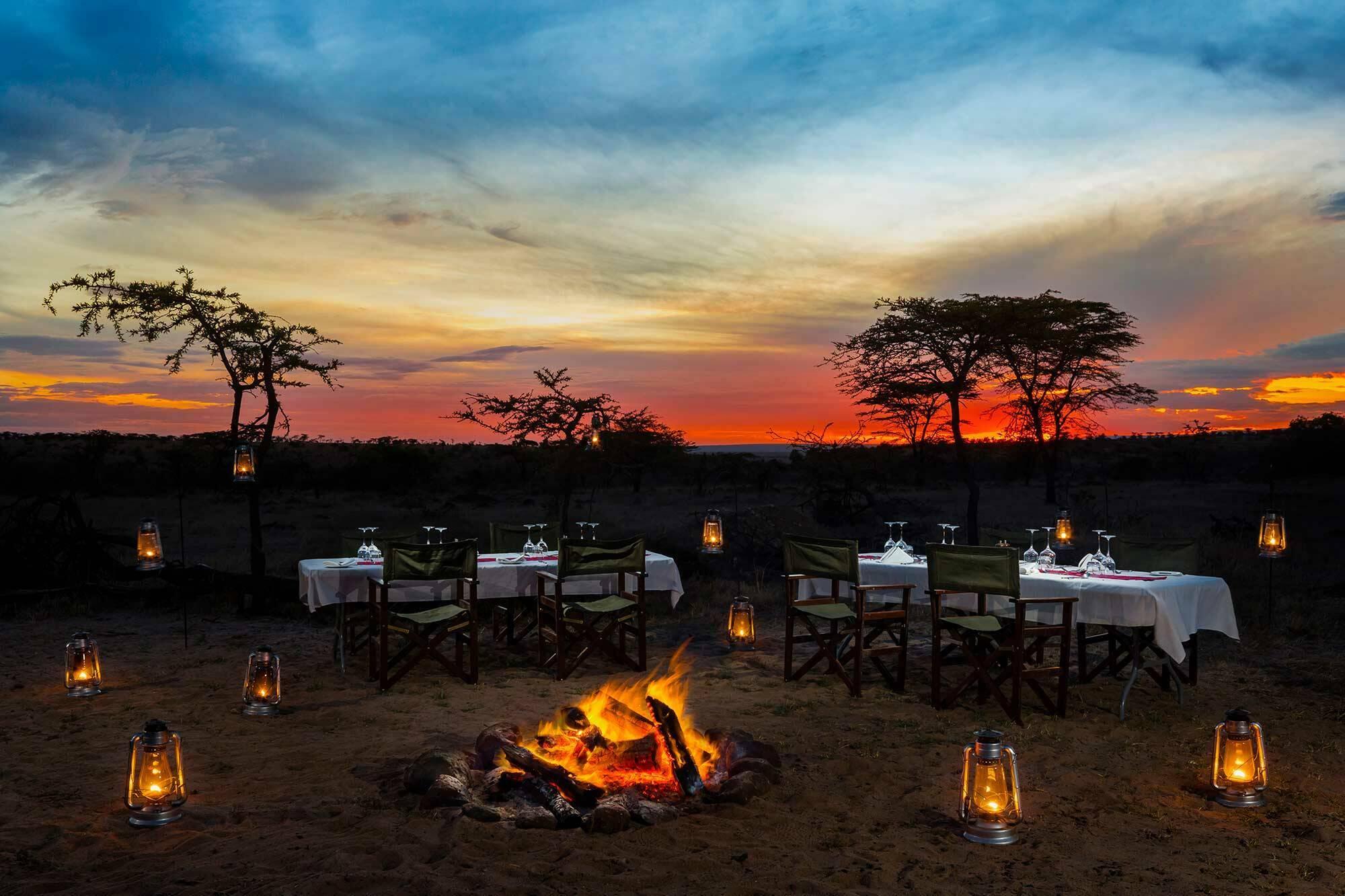 Mahali Mzuri Kenya Virgin Bush Diner