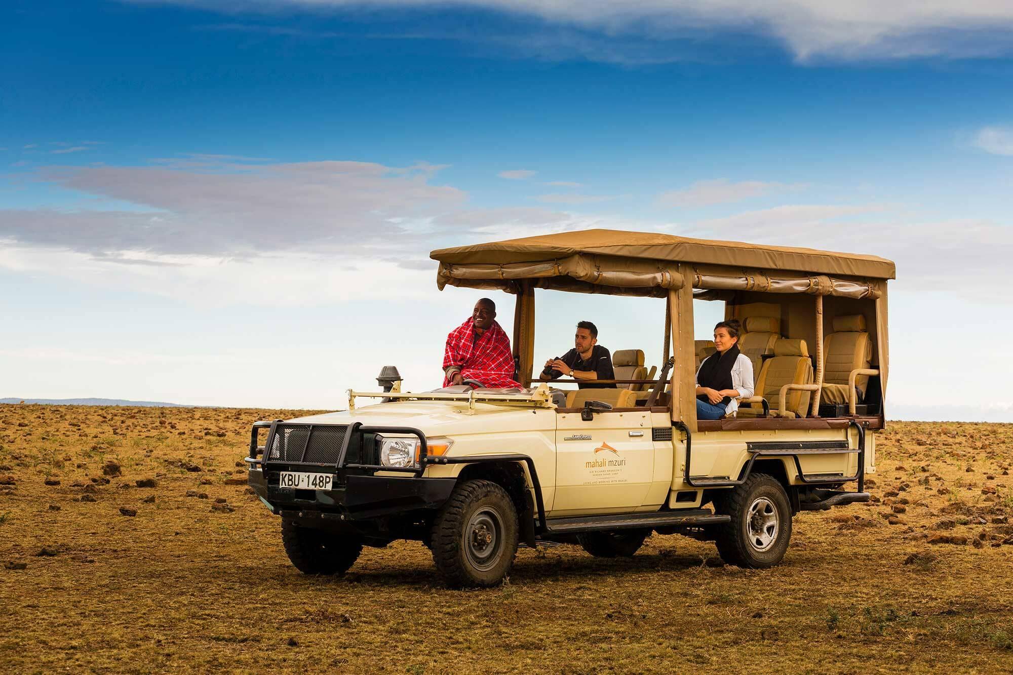 Mahali Mzuri Kenya Virgin Safari Voiture