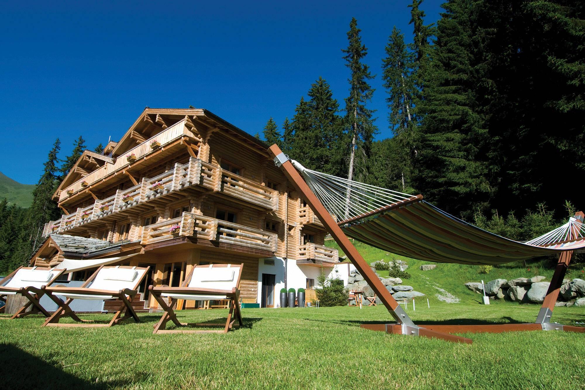 The Lodge Verbier Suisse Virgin Exterieur Ete