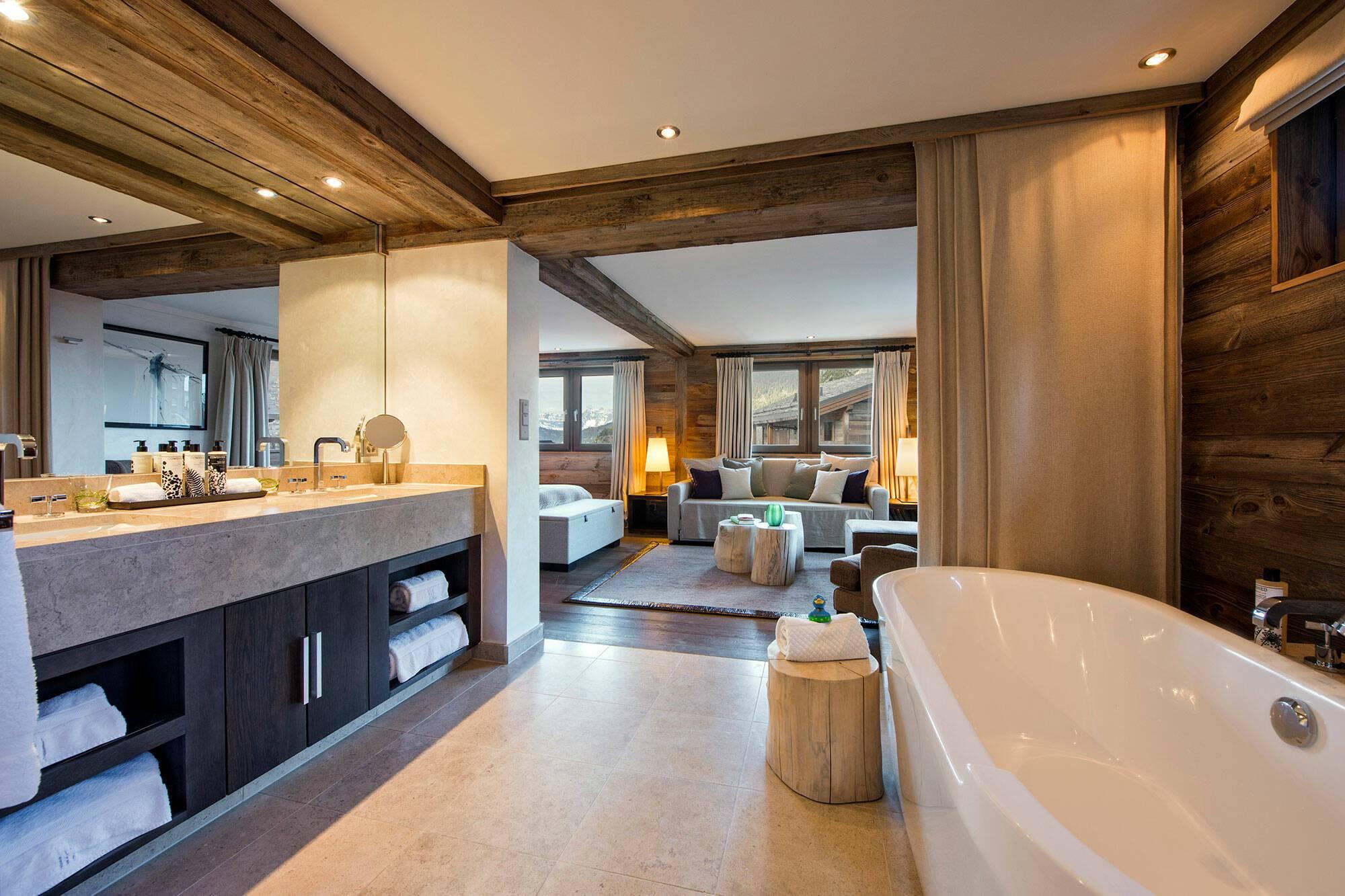 The Lodge Verbier Suisse Virgin Salle Bains