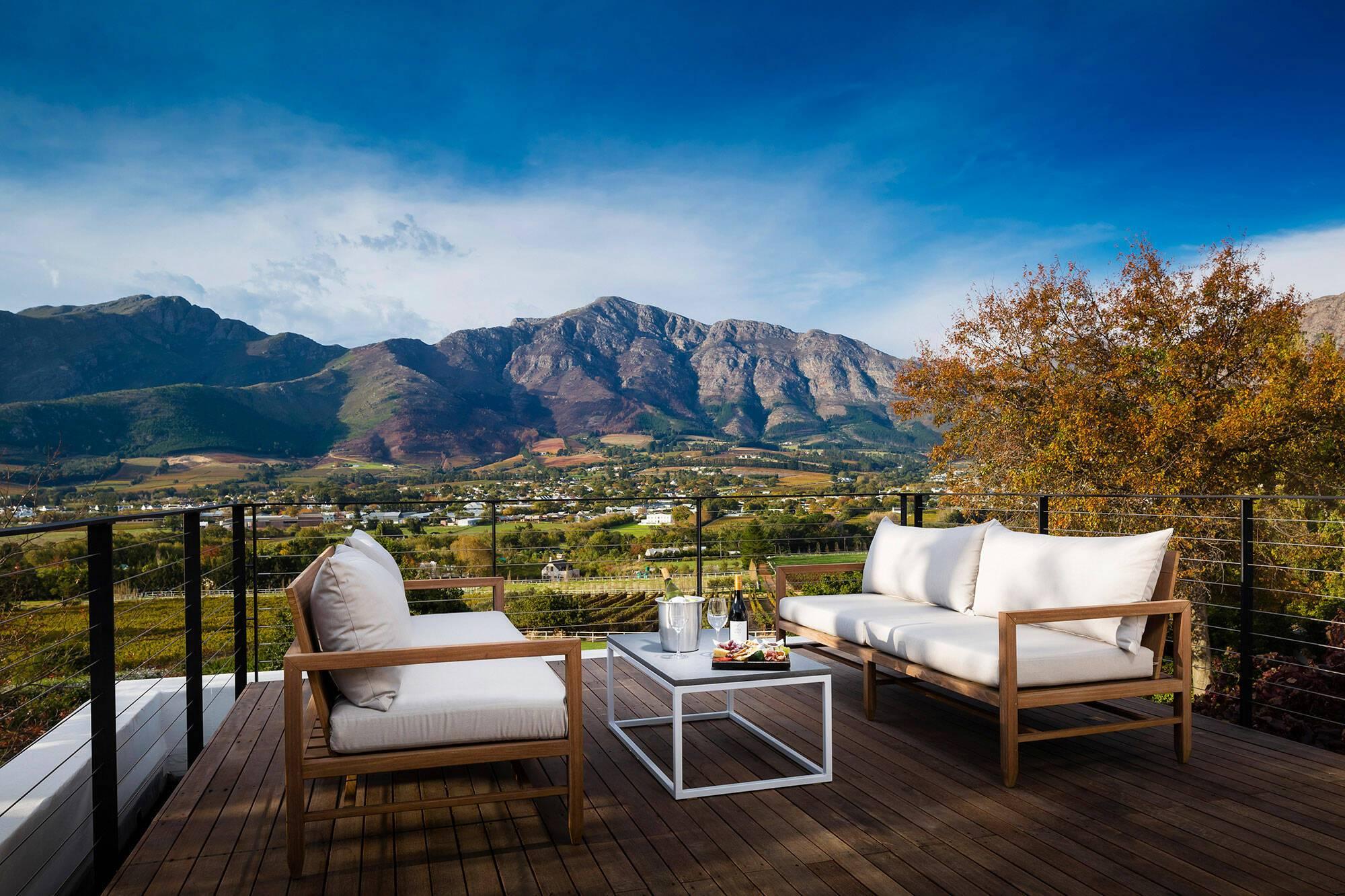 Virgin Mont Rochelle Afrique Sud Loft Suite Terrasse