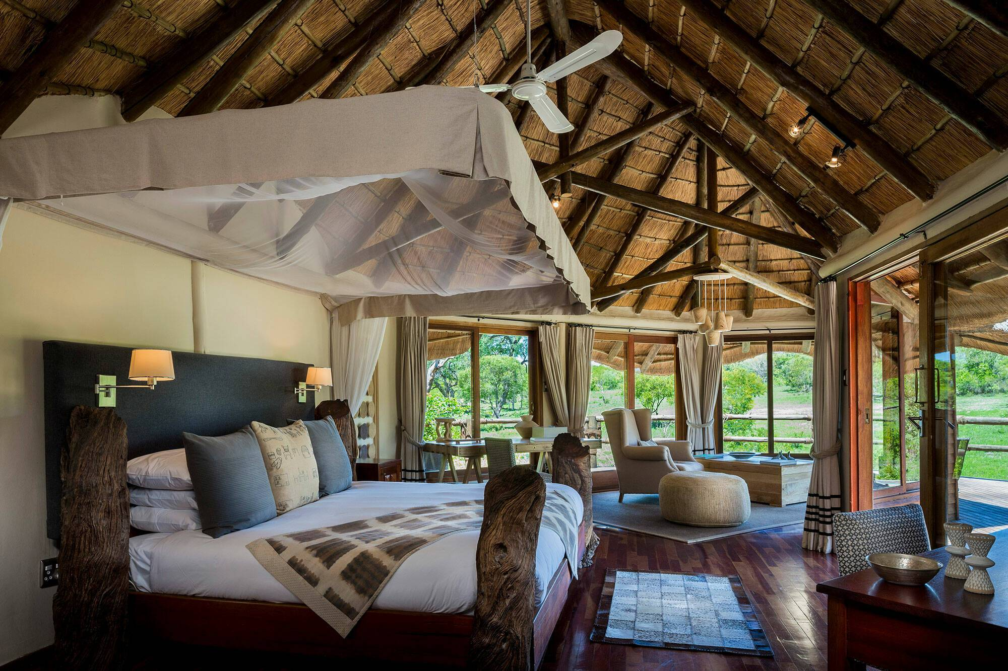 Virgin Ulusaba Afrique Sud River Room
