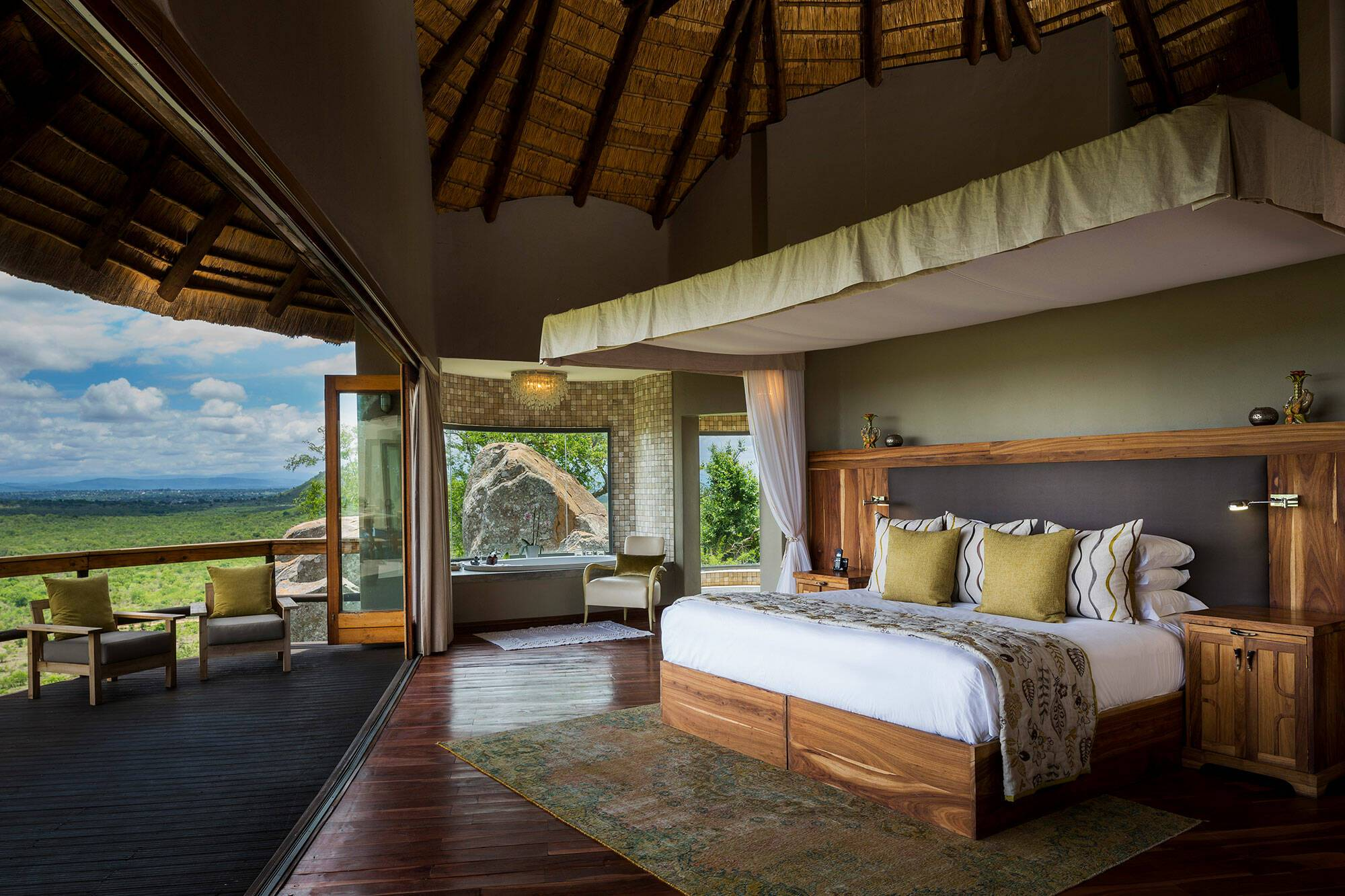 Virgin Ulusaba Afrique Sud Virgin Cliff lodge Chambre