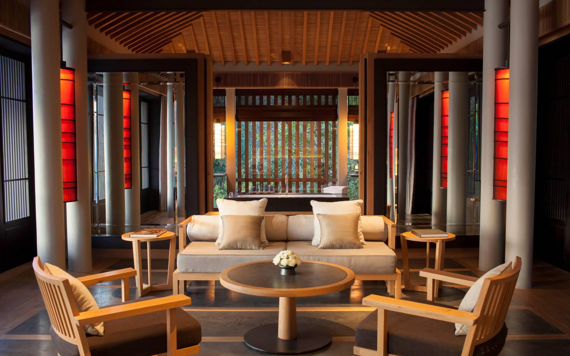 Amanoi Ocean Pool Villa Chambre Vietnam