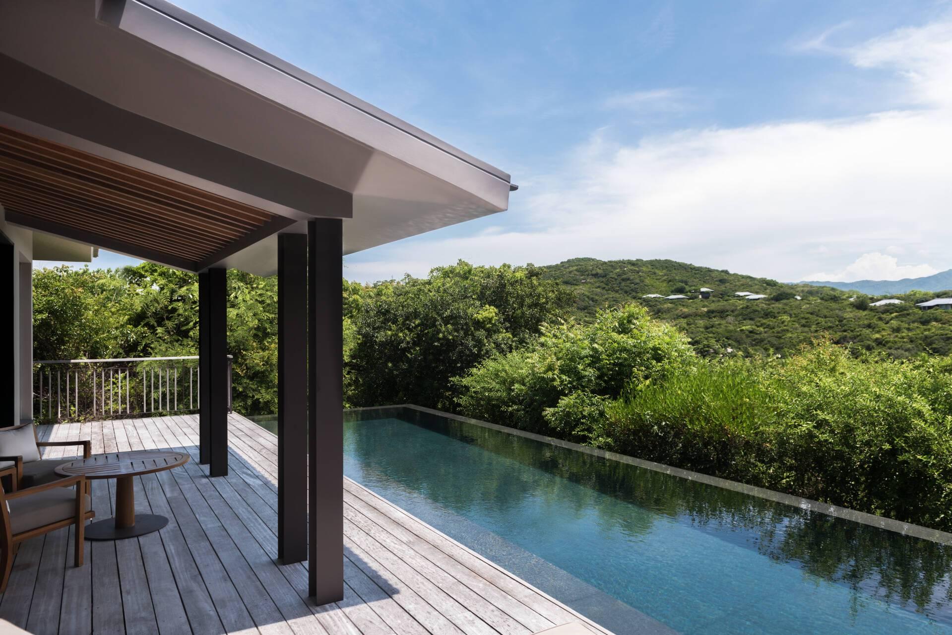 Amanoi Ocean Pool Villa Terrasse Vietnam