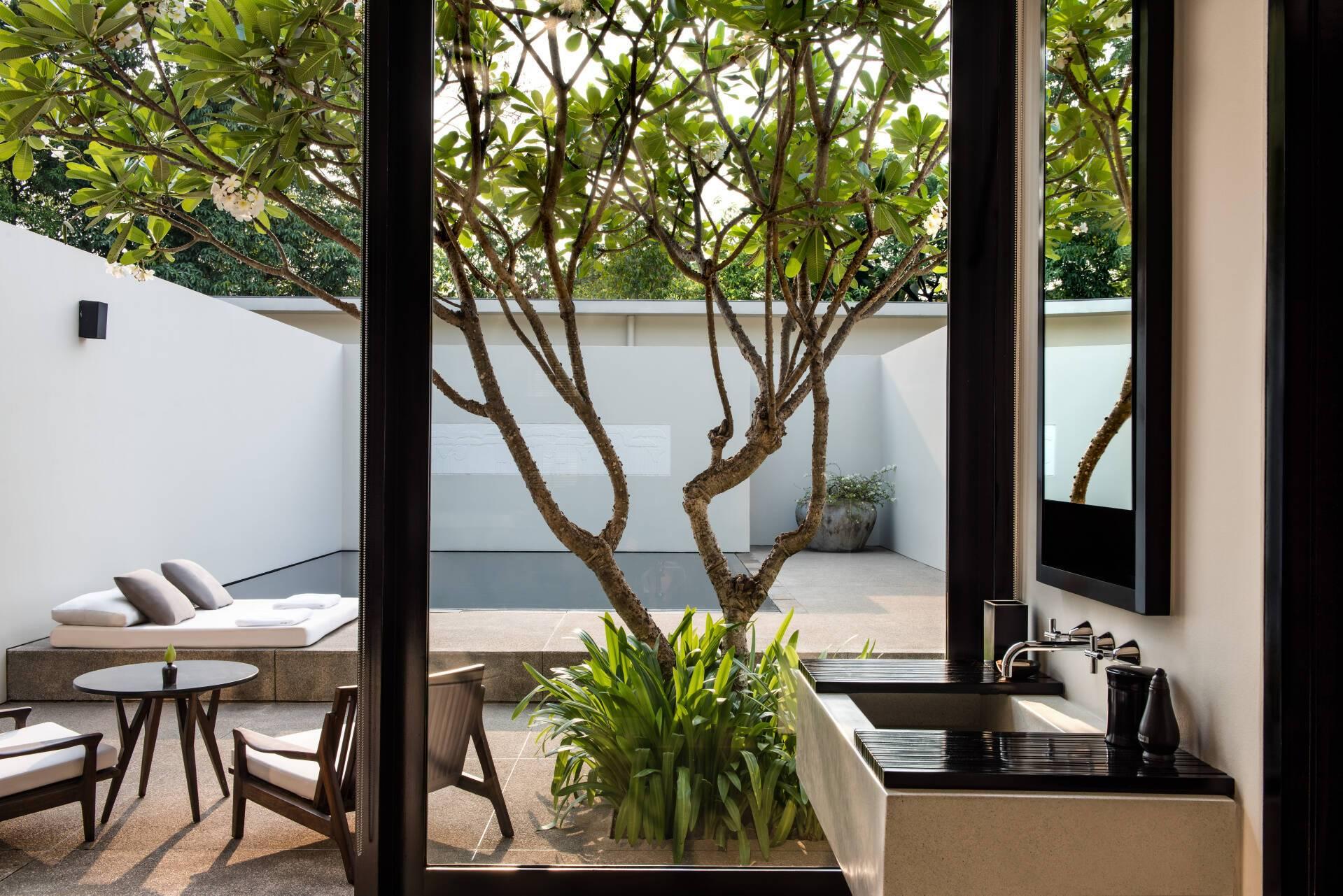 Amansara Pool Suite Terrasse Cambodge
