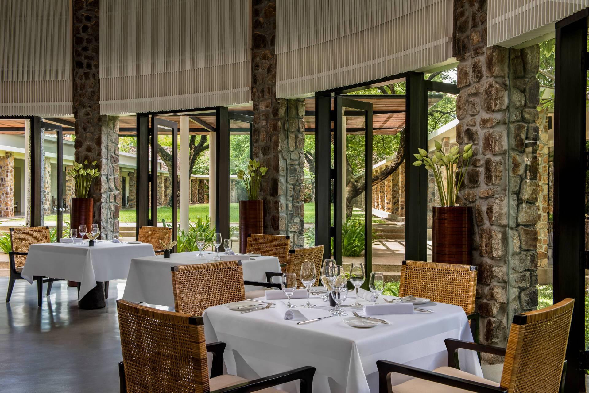 Amansara Restaurant Cambodge