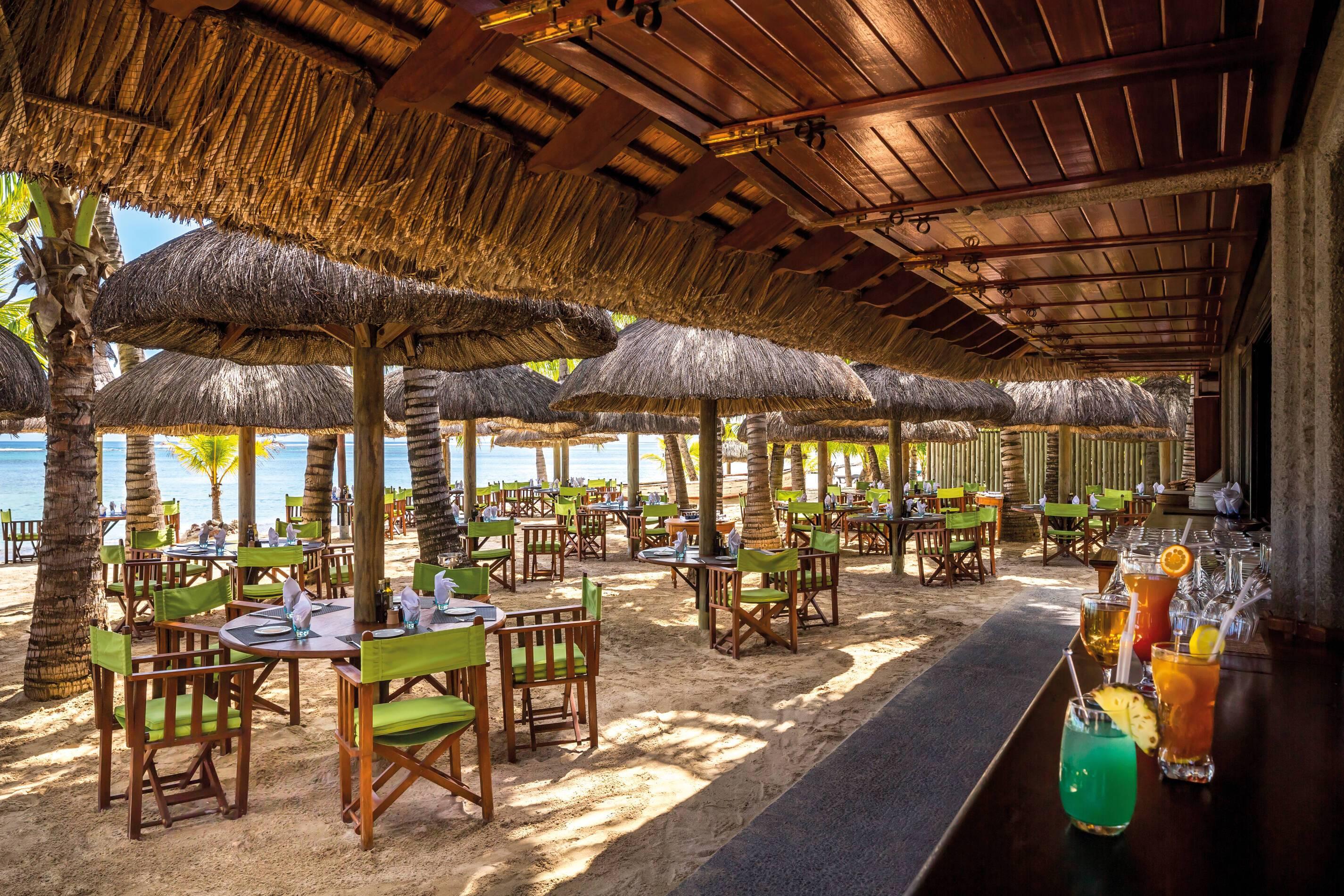 Dinarobin Beachcomber Restaurant La Plage Maurice New Mauritius Hotels