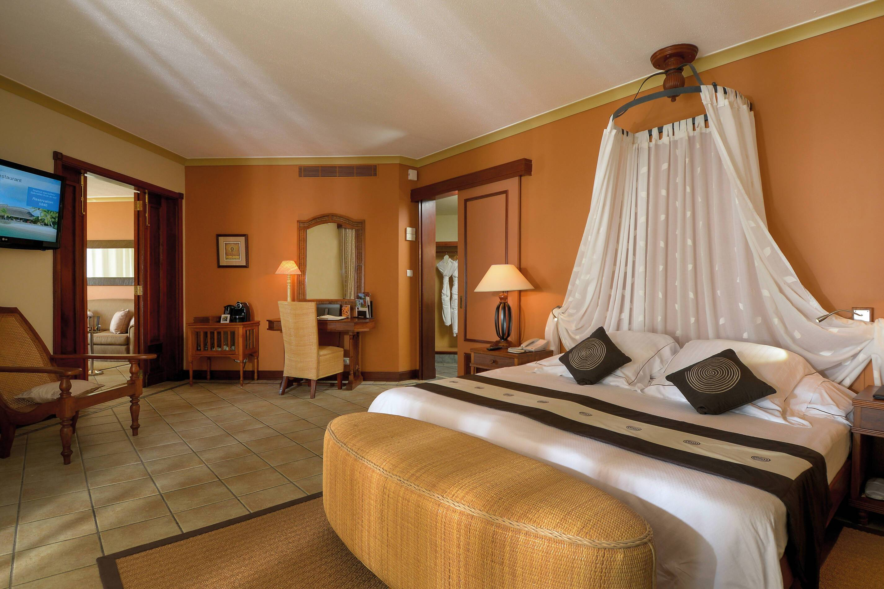 Dinarobin Beachcomber Senior Suite Chambre Maurice New Mauritius Hotels