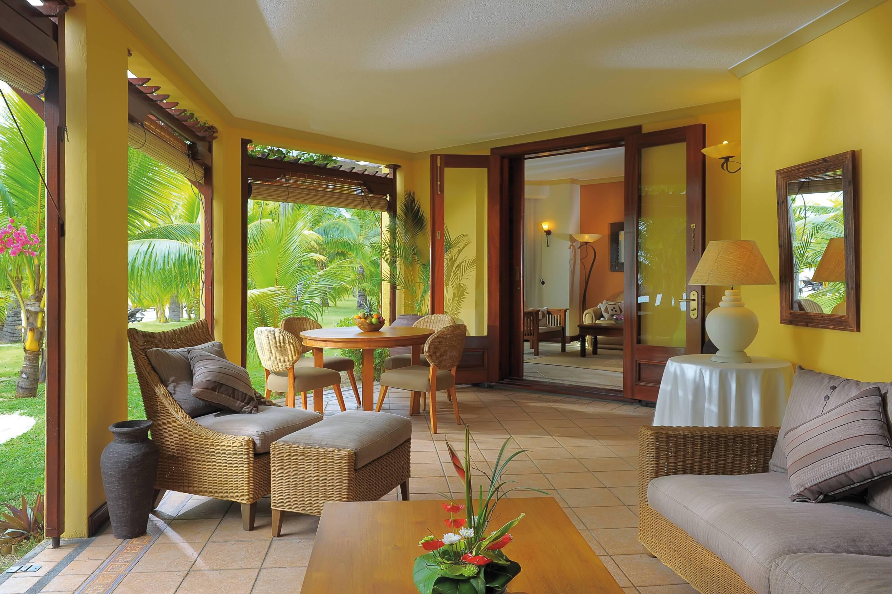 Dinarobin Beachcomber Senior Suite Living Maurice New Mauritius Hotels