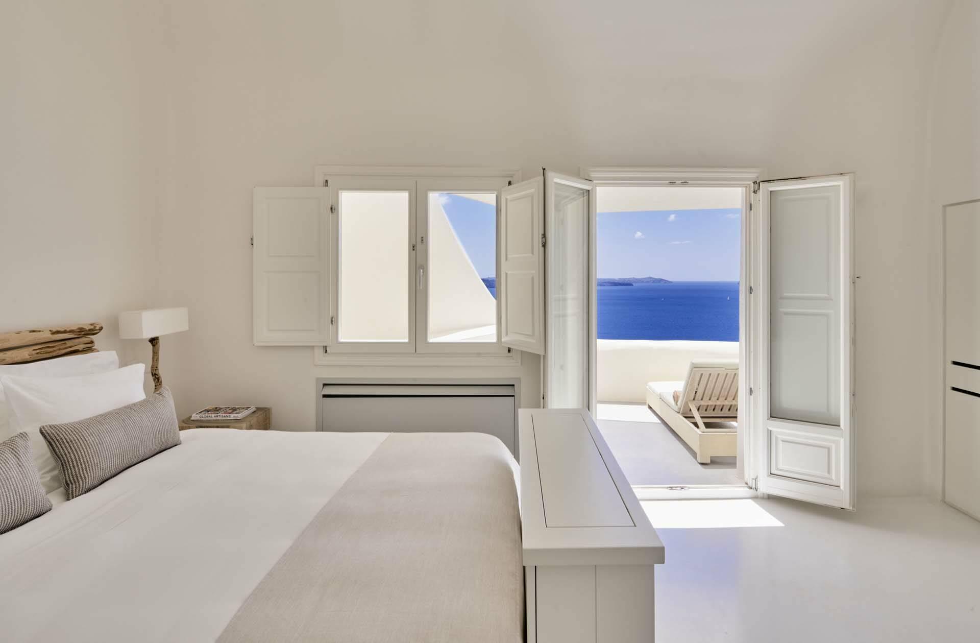 Mystique Santorin Spiritual Suite Bedroom