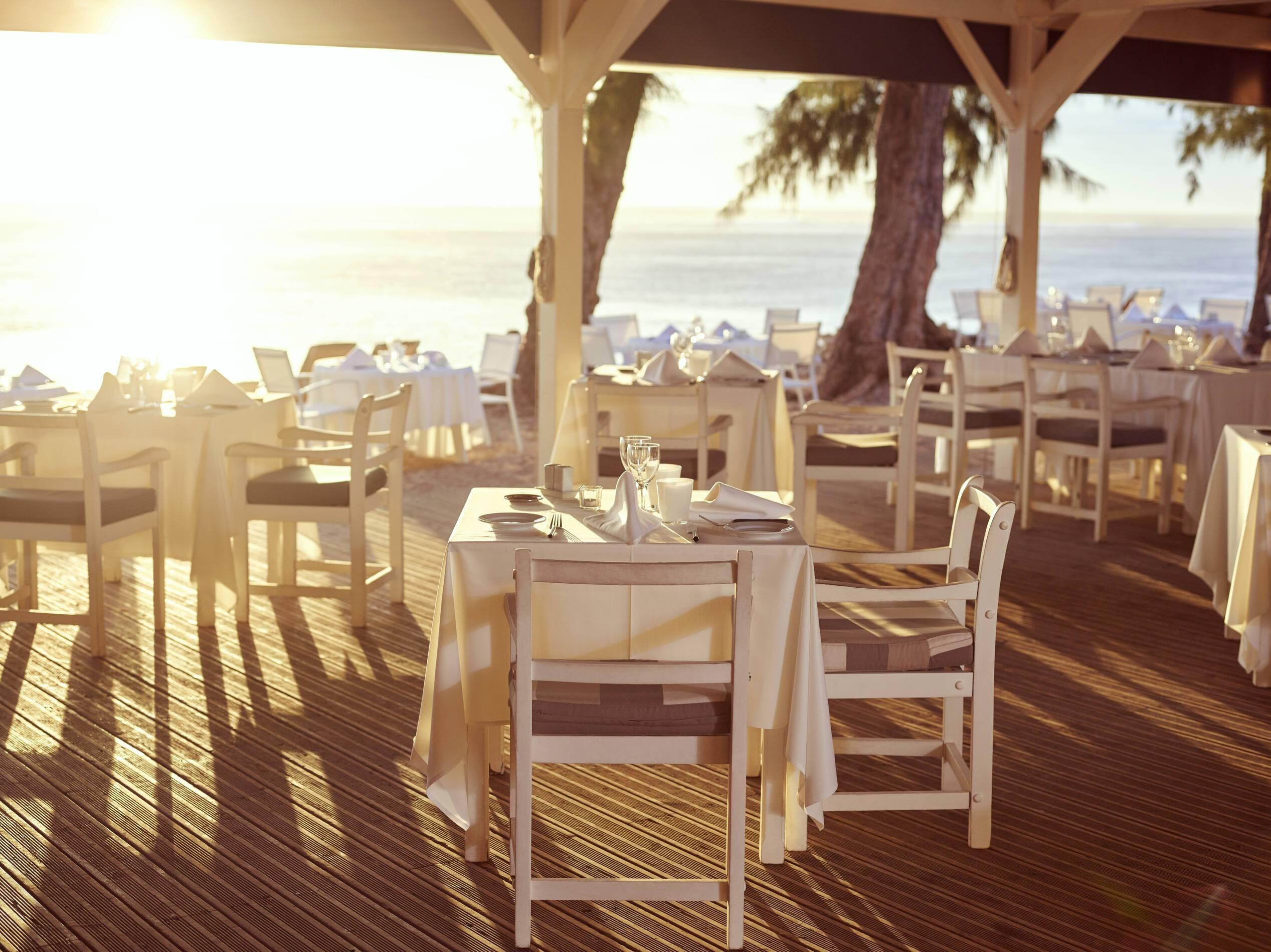 Lux Saint Gilles Restaurant Ile de la Reunion