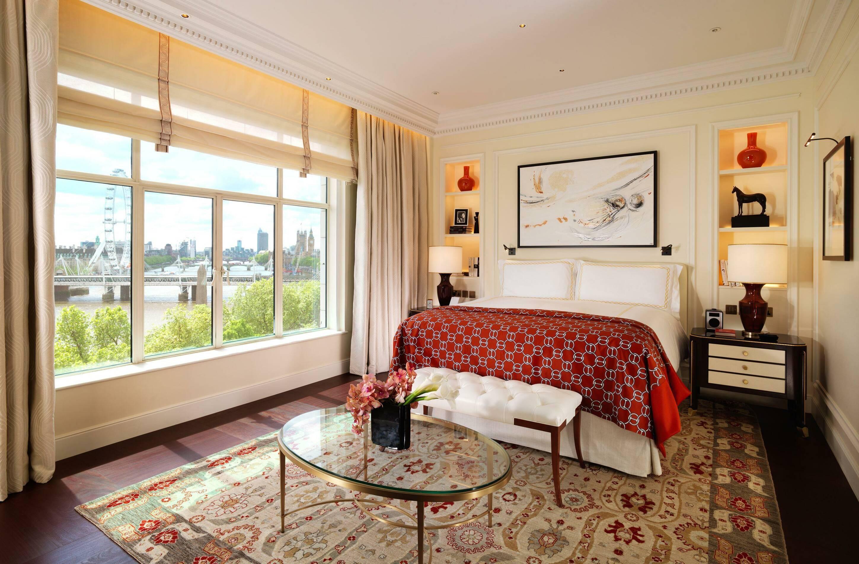 Fairmont Savoy Londres Suite Bedroom