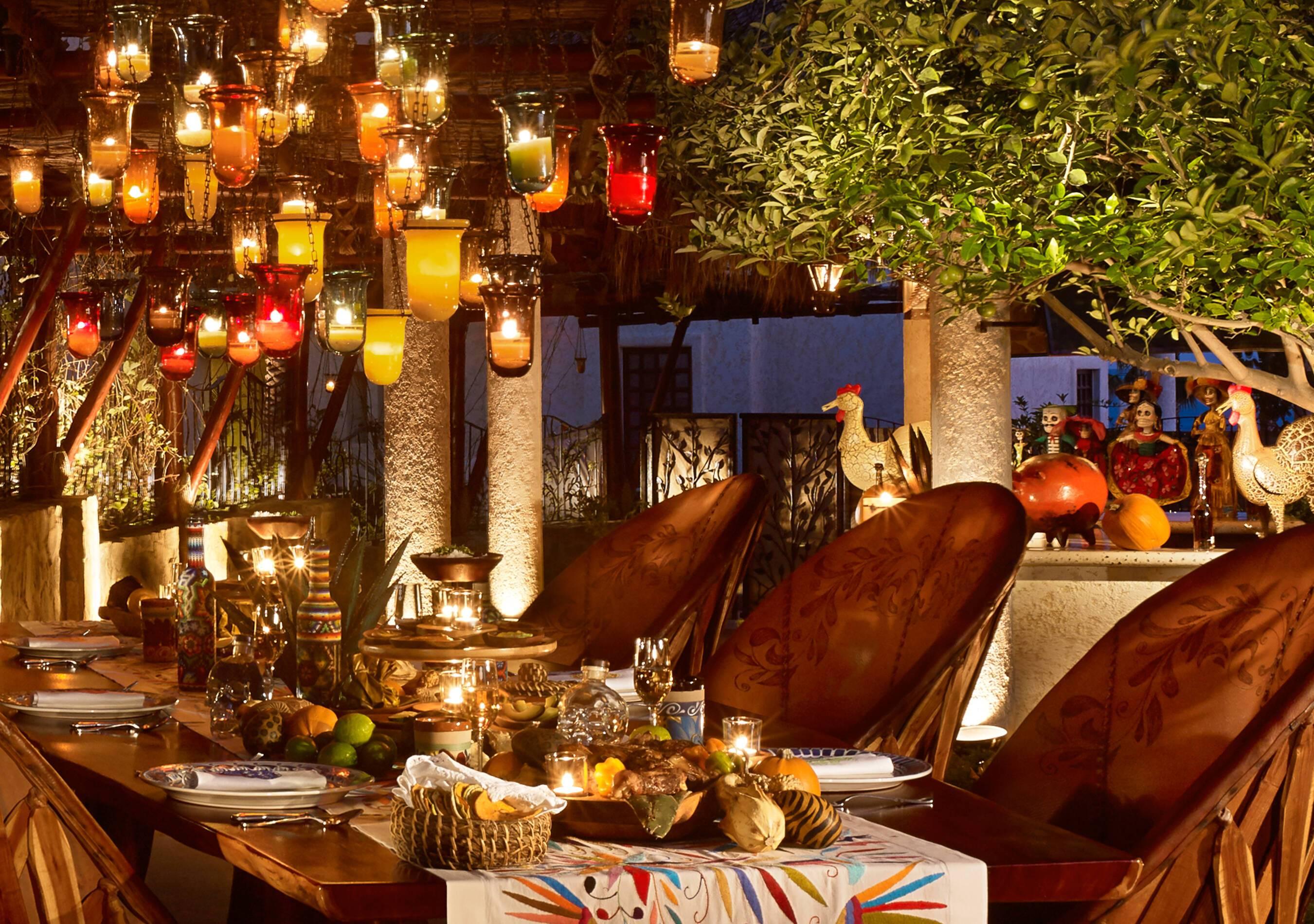 Ventanas Paraiso Mexique Rosewood Restaurant