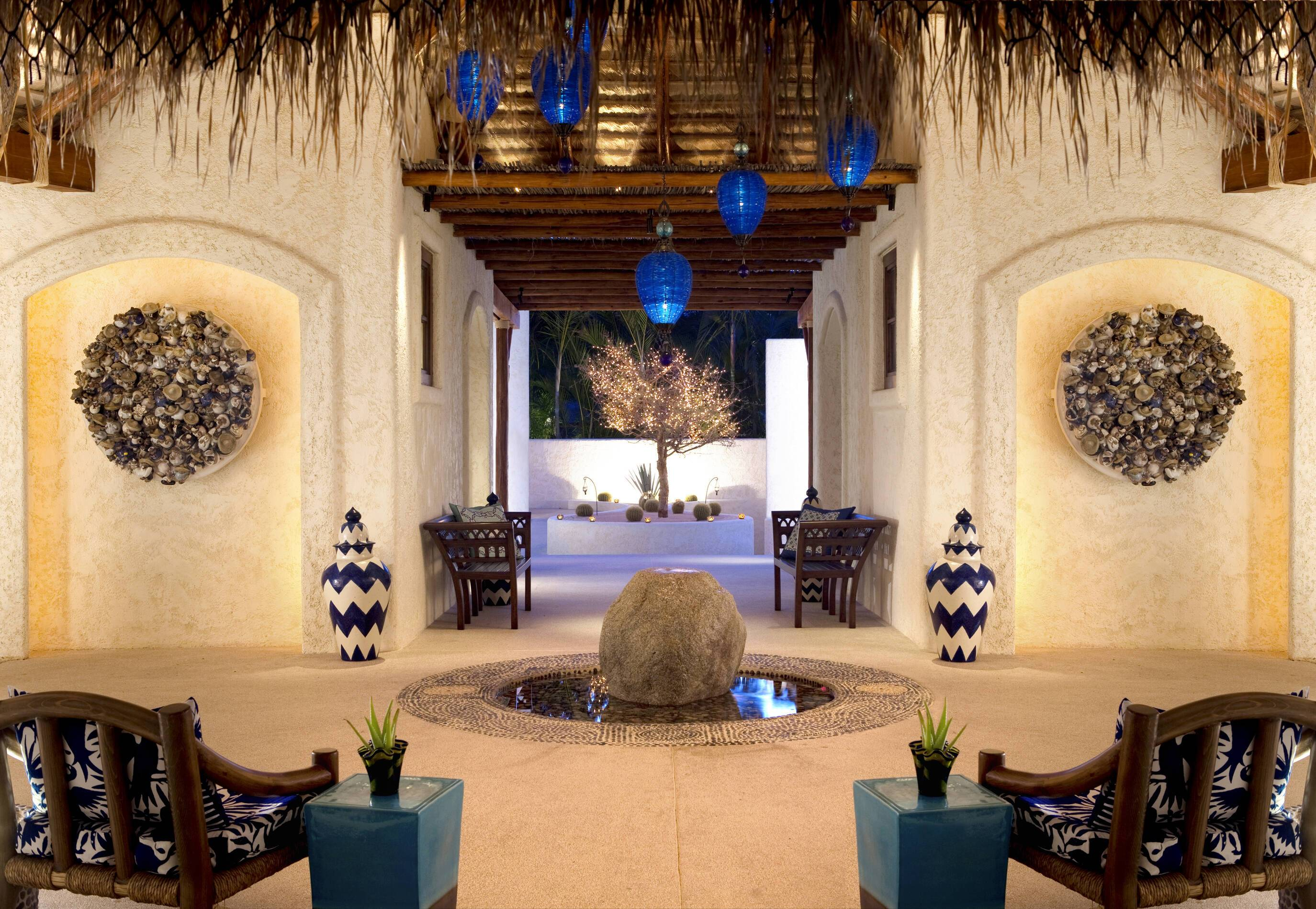 Ventanas Paraiso Mexique Rosewood Spa Entree