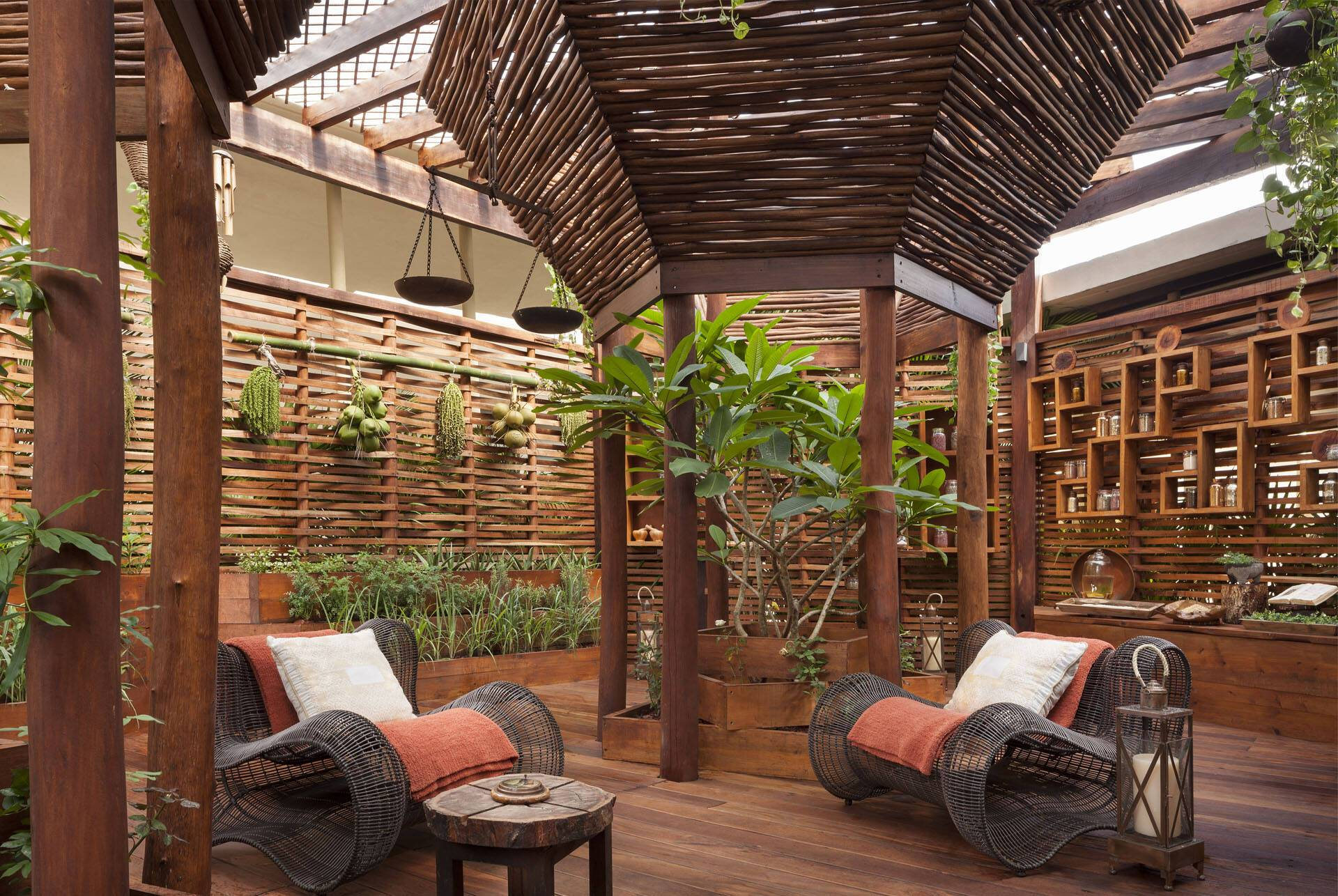 Rosewood Mayakoba Mexique SenseSpa Kuxtal Sensory Garden