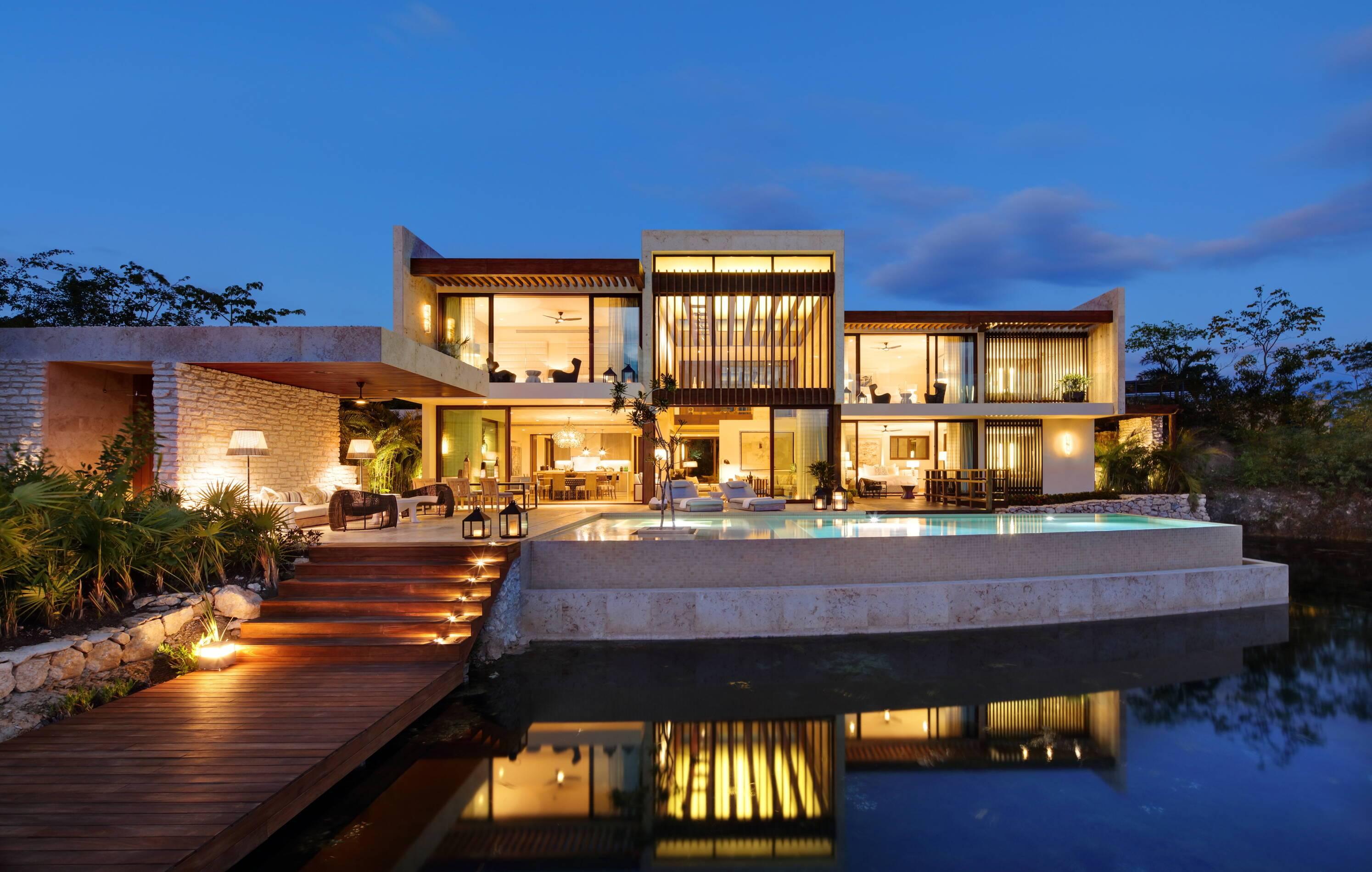 Rosewood Mayakoba Mexique Villa Coral