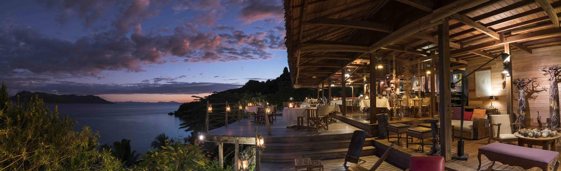 Tsara Komba Lodge Madagascar Restaurant Chassaing