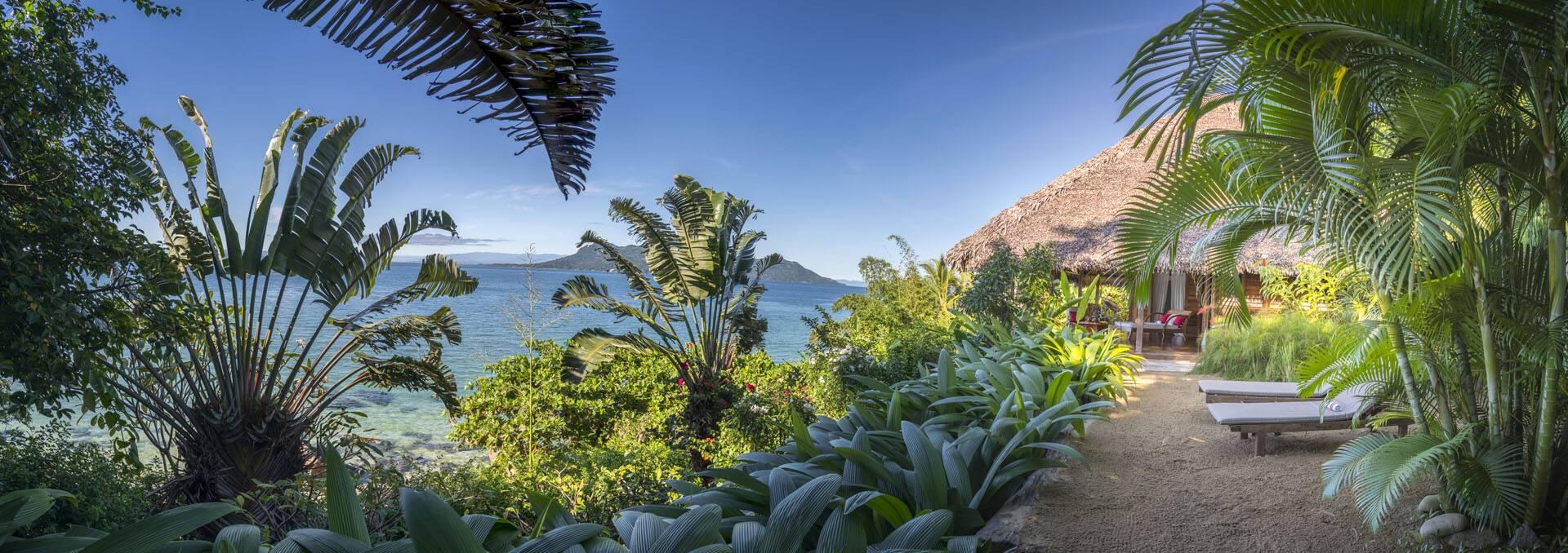 Tsara Komba Lodge Madagascar Vue Chassaing