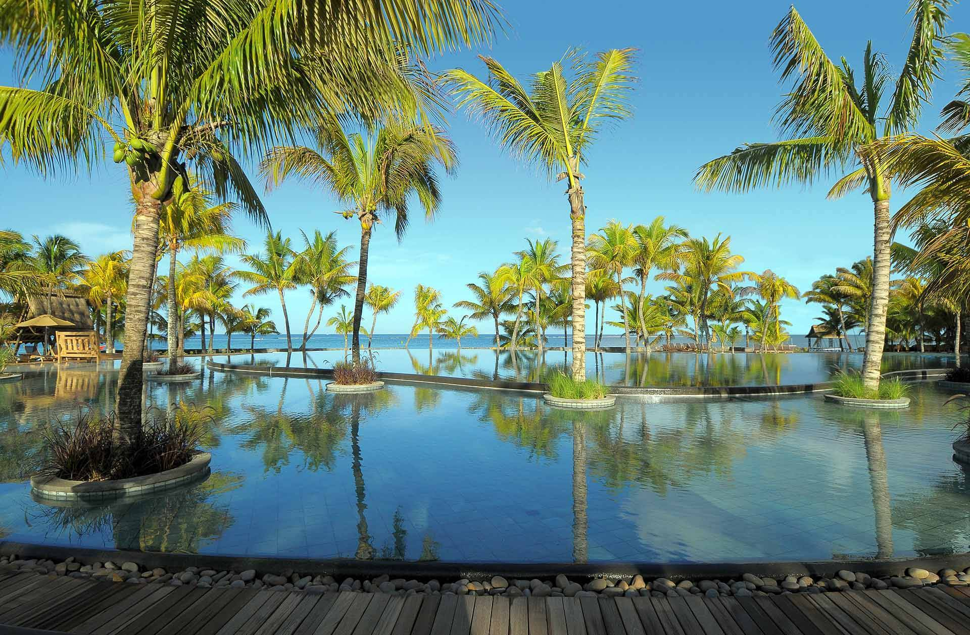 Trou aux Biches Piscine Maurice New Mauritius Hotels