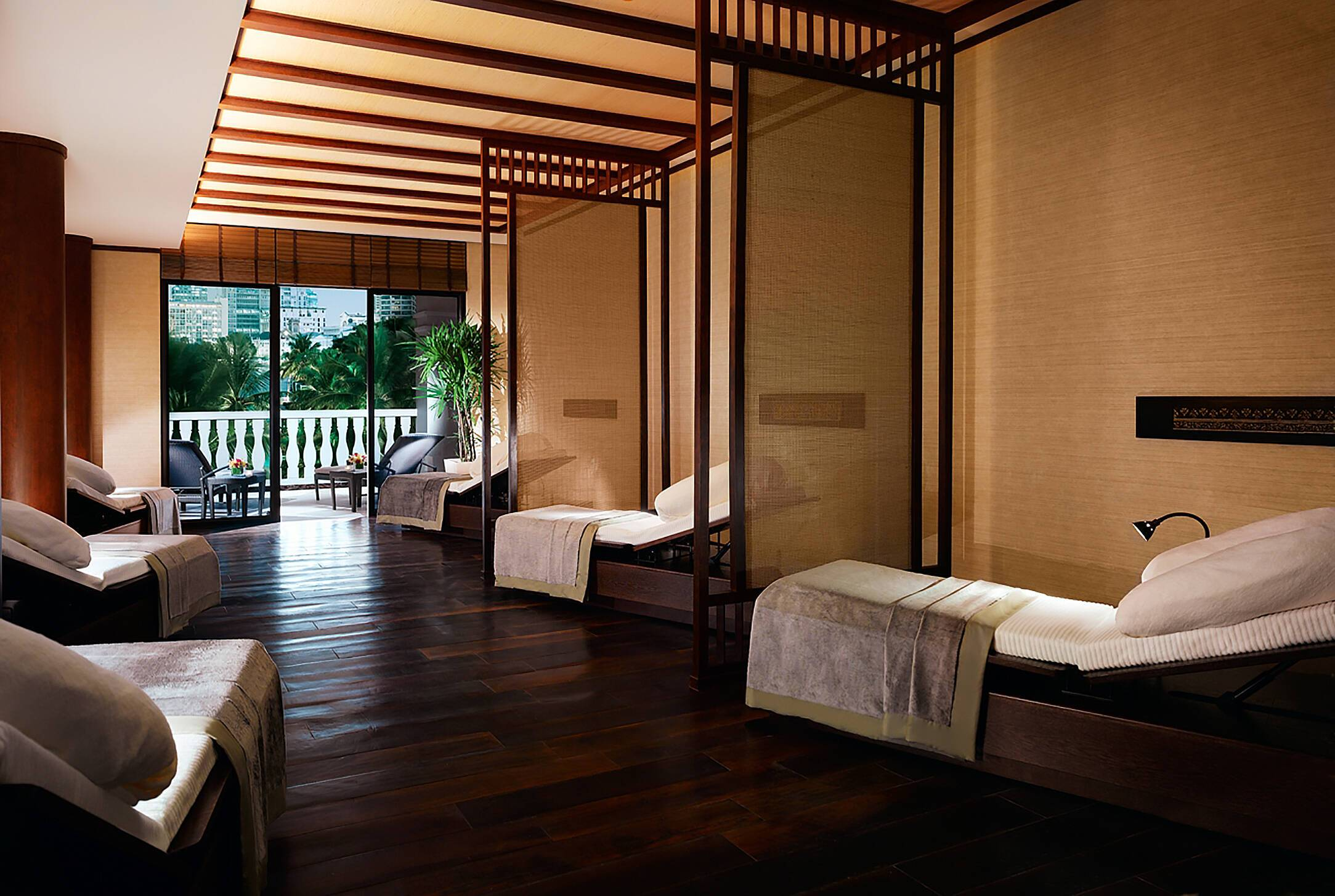 Peninsula Bangkok Salle Relaxation