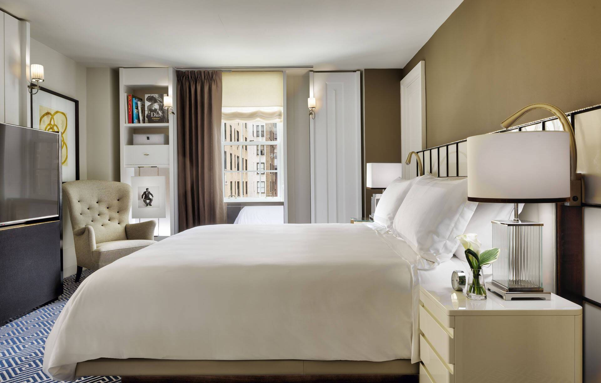 Carlyle Rosewood New York Superior Suite Bedroom