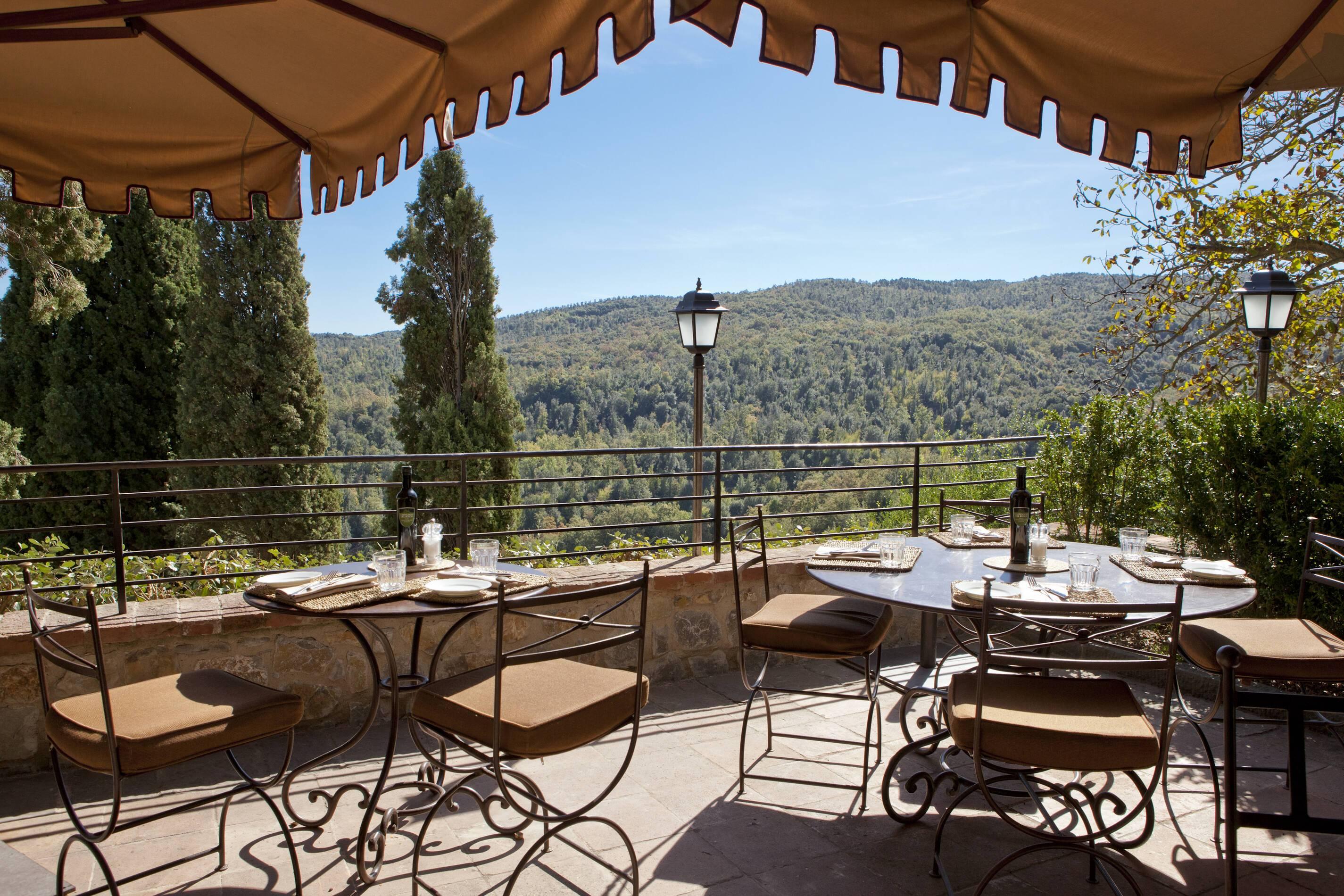 Rosewood Castiglion Bosco Toscane Canonica Restaurant