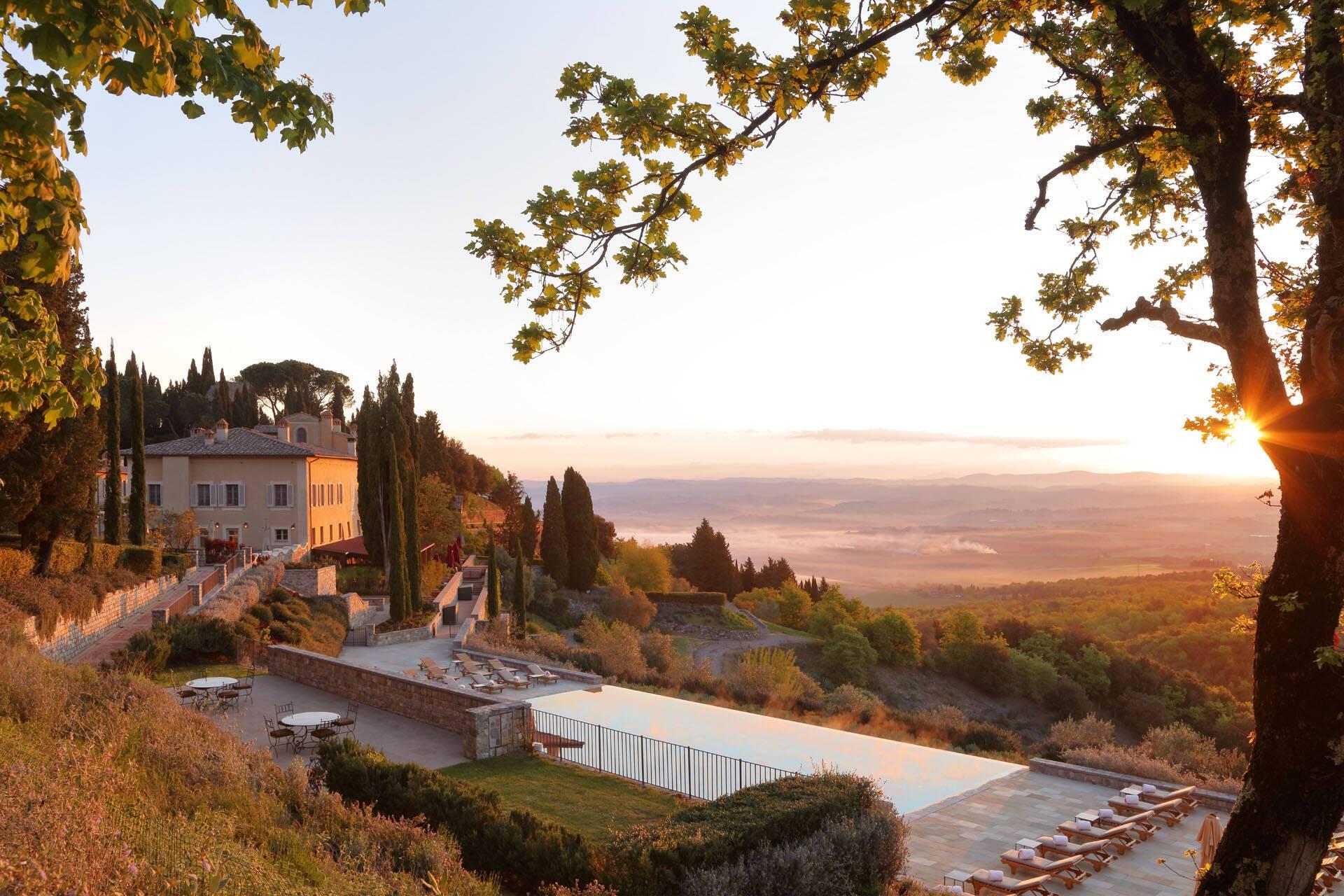 Rosewood Castiglion Bosco Toscane Il Borgo Pool