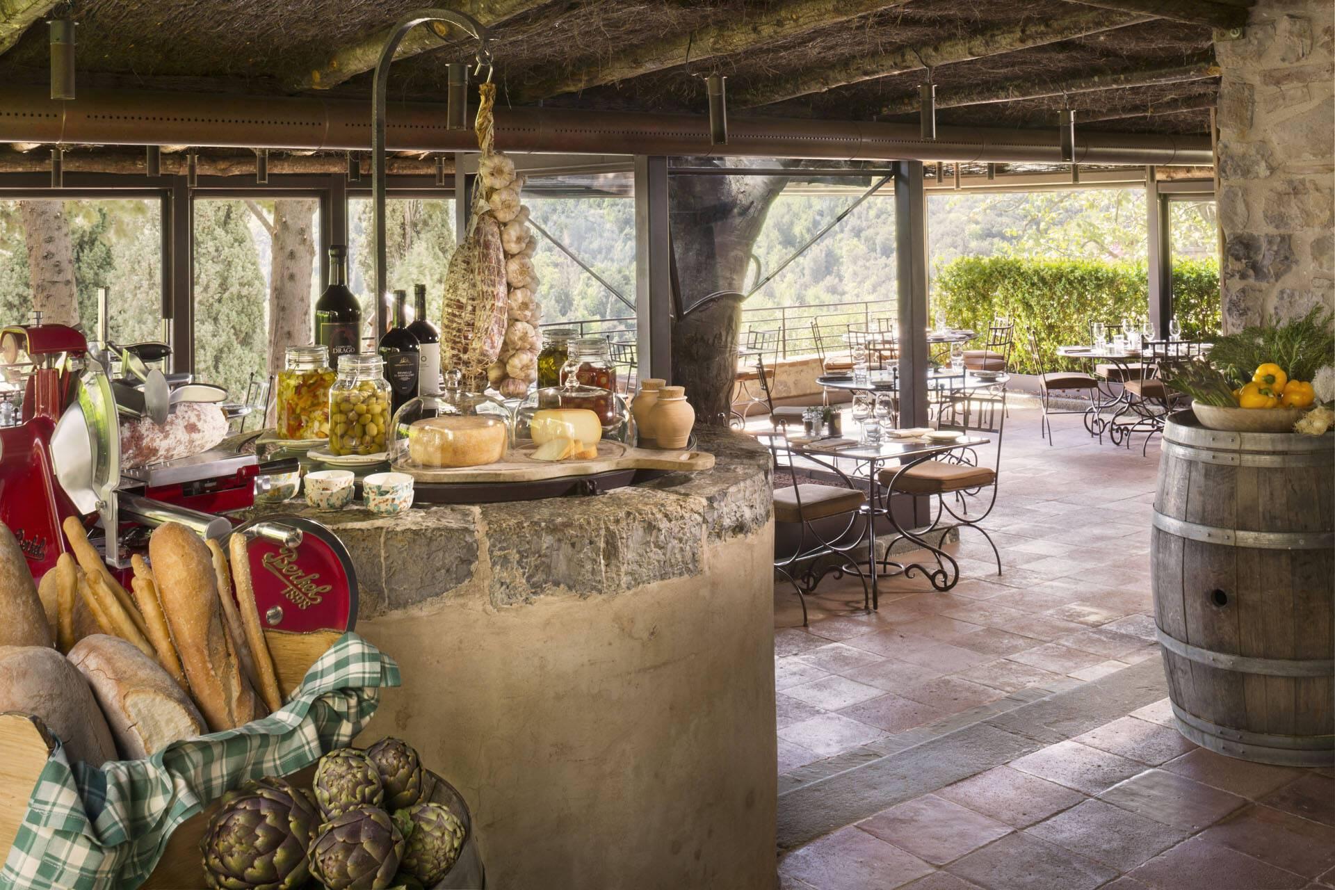 Rosewood Castiglion Bosco Toscane Osteria Canonica