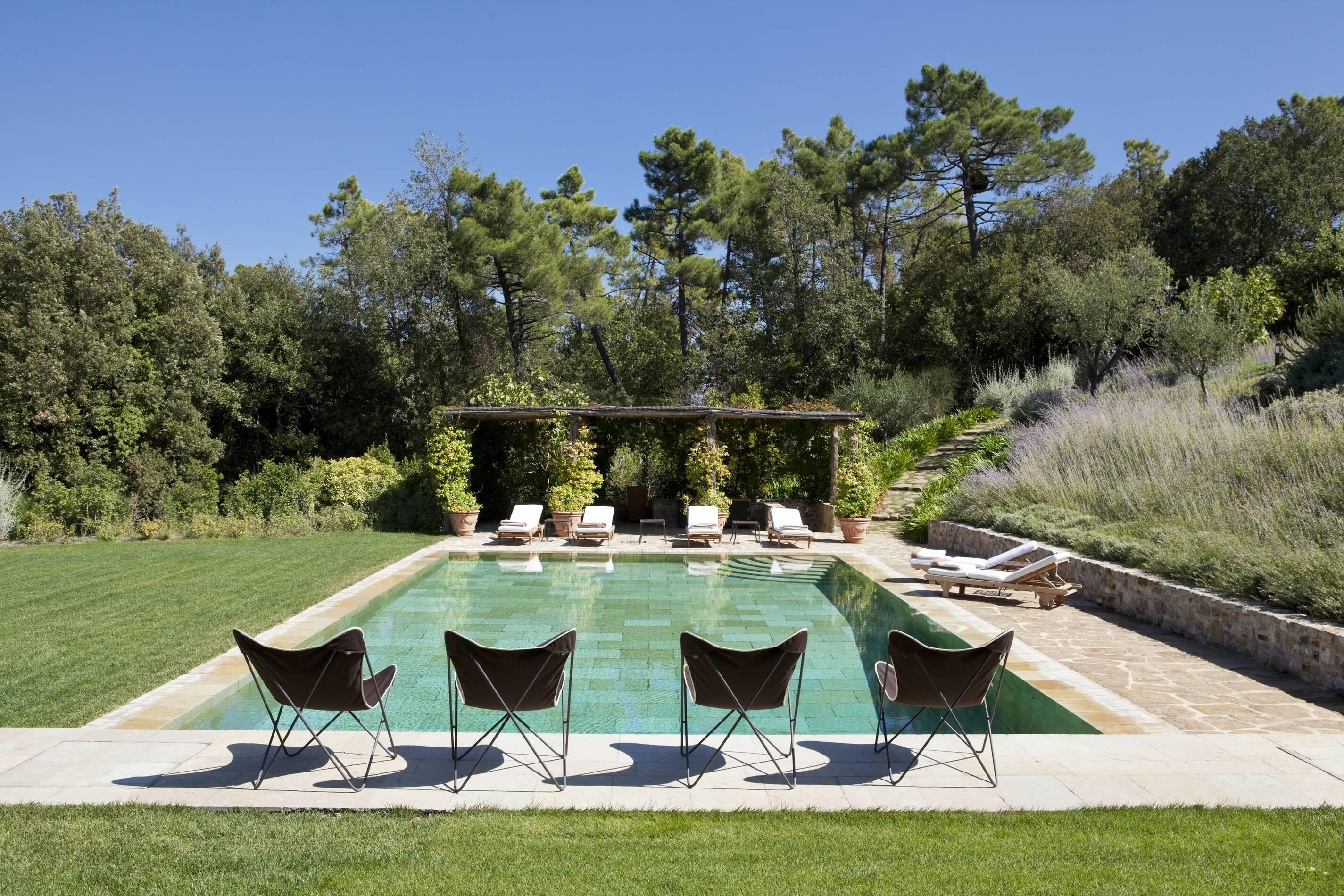 Rosewood Castiglion Bosco Toscane Villa Alba Piscine