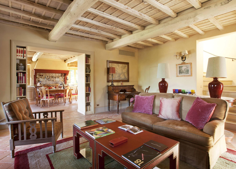 Rosewood Castiglion Bosco Toscane Villa Alba Salon