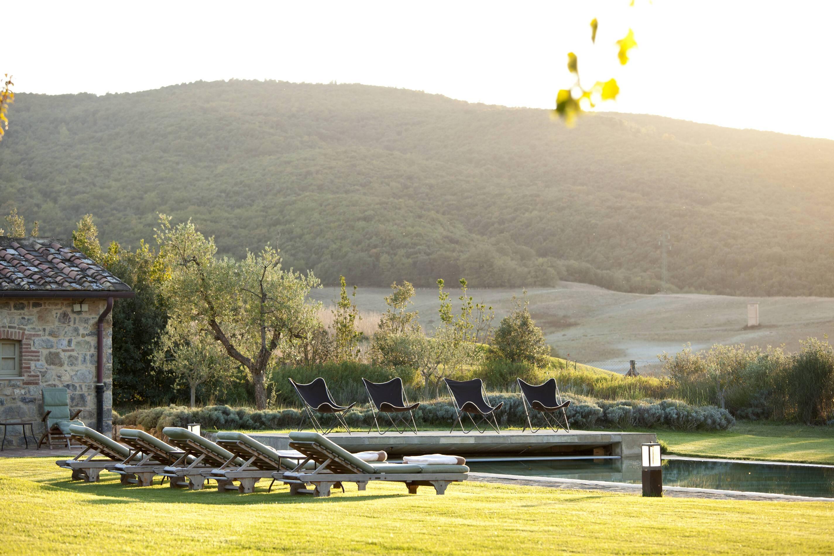 Rosewood Castiglion Bosco Toscane Villa Biondi Piscine