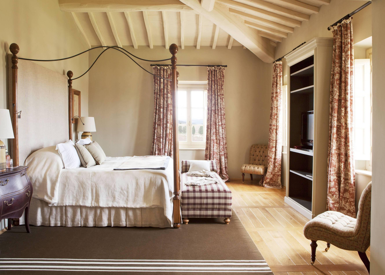 Rosewood Castiglion Bosco Toscane Villa Sant Anna Chambre
