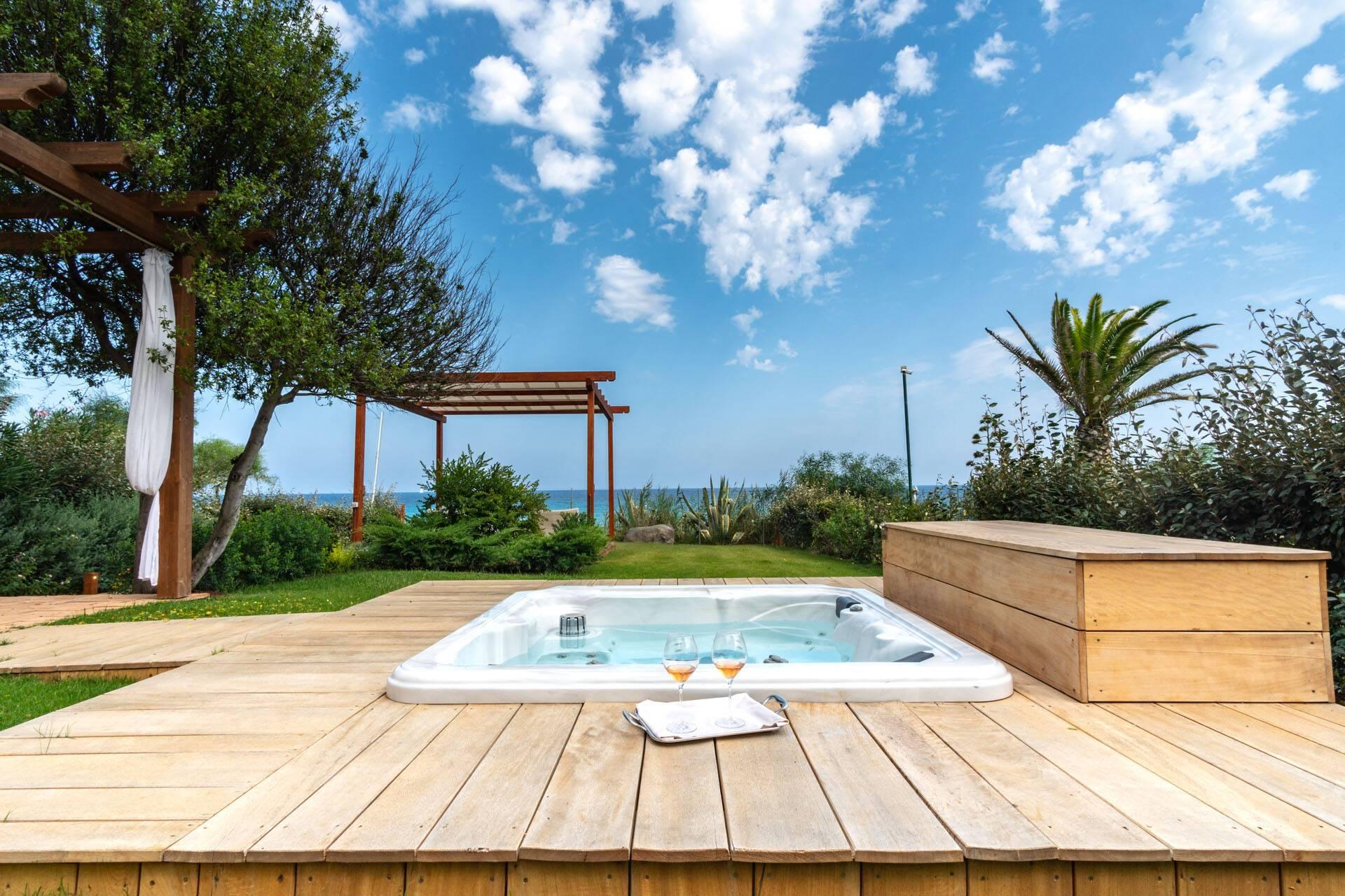 Villa Del Re Sardaigne Junior Suite Jacuzzi