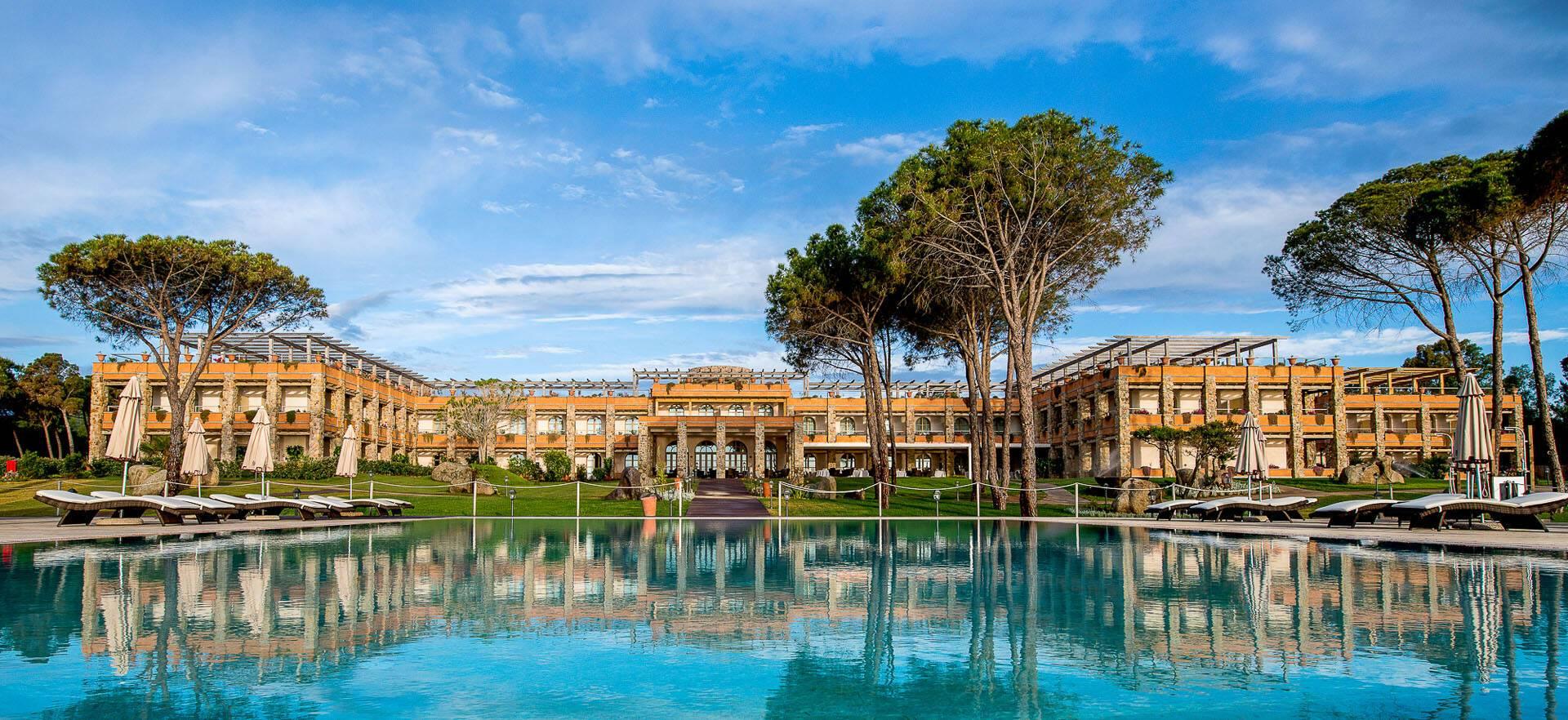 Villa Del Re Sardaigne Piscine