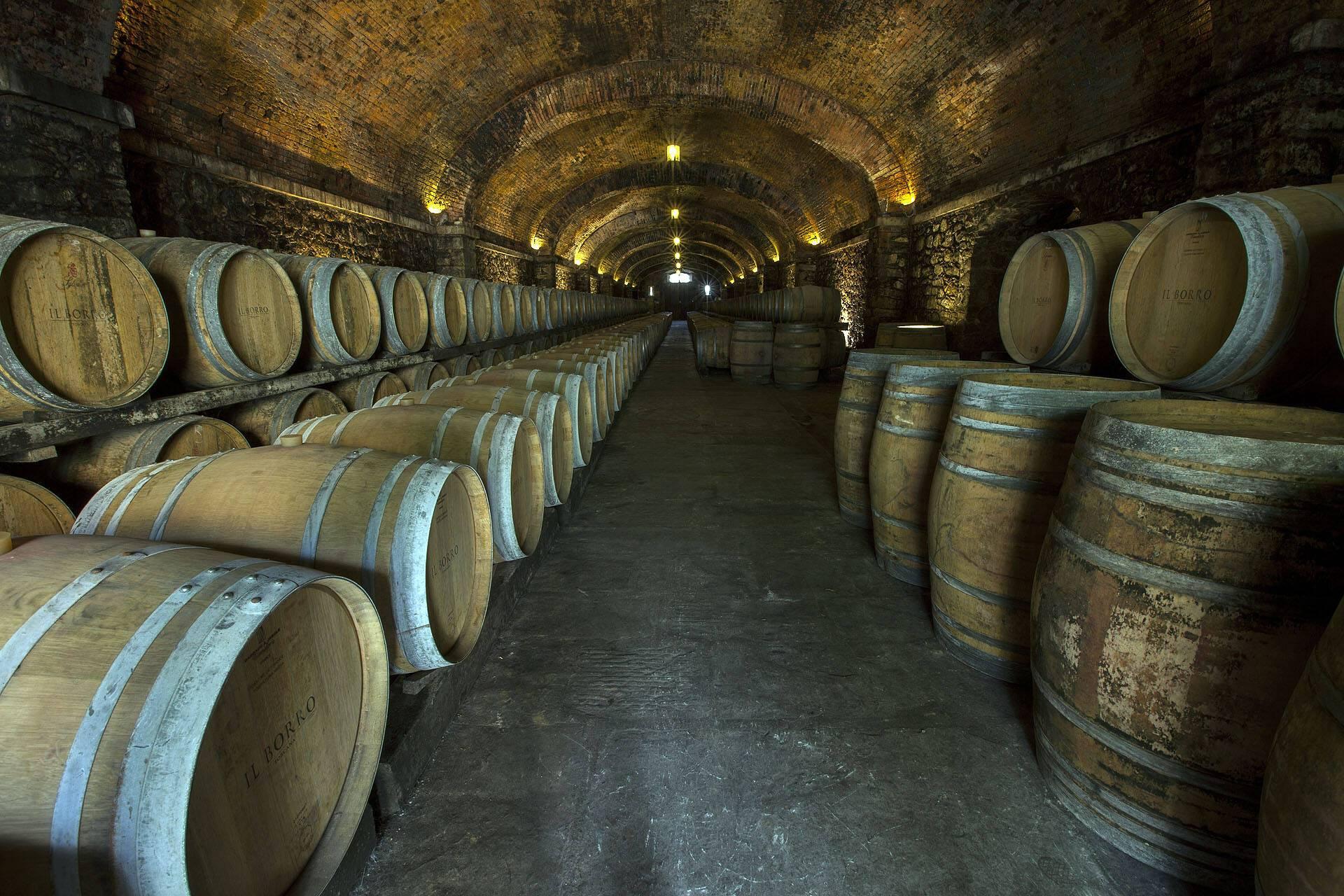 Il Borro Toscane Cave