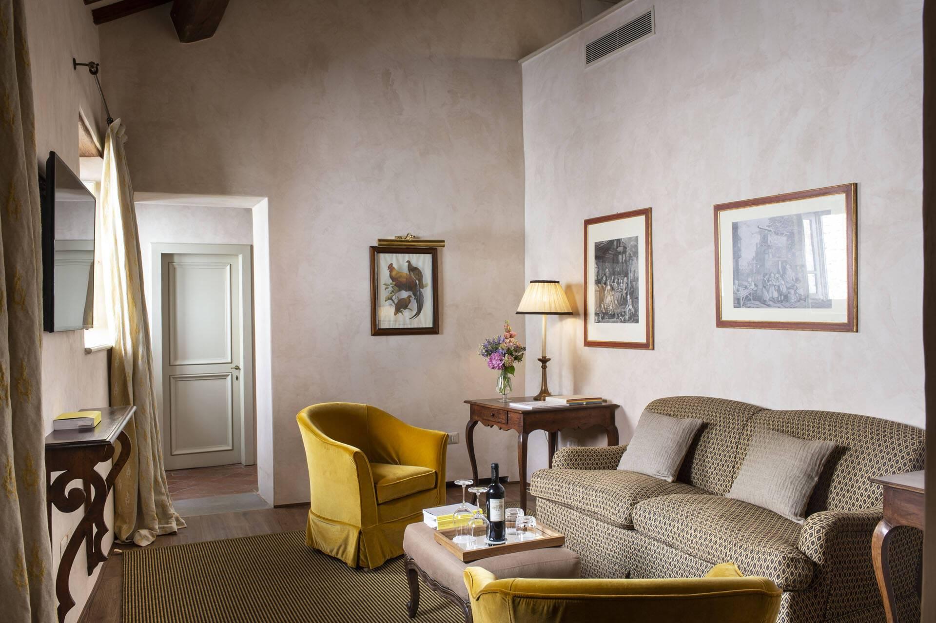 Il Borro Toscane Village Deluxe Suite Canonica Francesca Pagliai